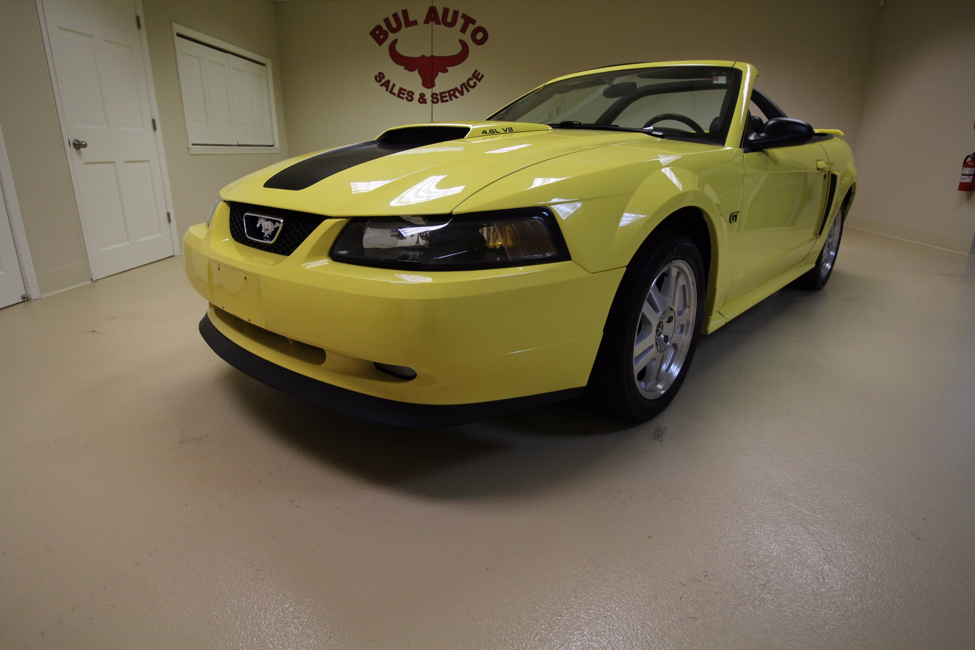 2001 ford mustang gt premium convertible stock 16280 for. Black Bedroom Furniture Sets. Home Design Ideas