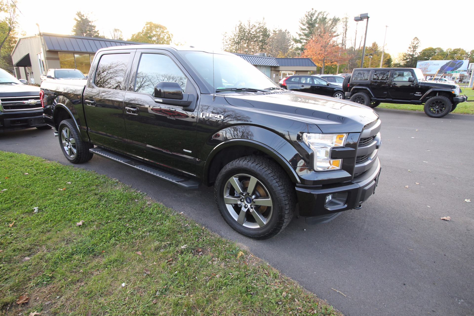Used Ford F 150 For Sale In Rochester Ny: 2015 Ford F-150 Lariat SuperCrew 5.5-ft. Bed 4WD Stock