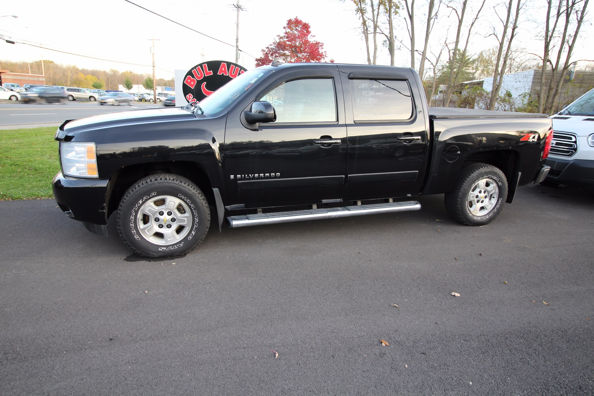 2007 chevrolet silverado 1500 ltz crew cab 4wd stock. Black Bedroom Furniture Sets. Home Design Ideas