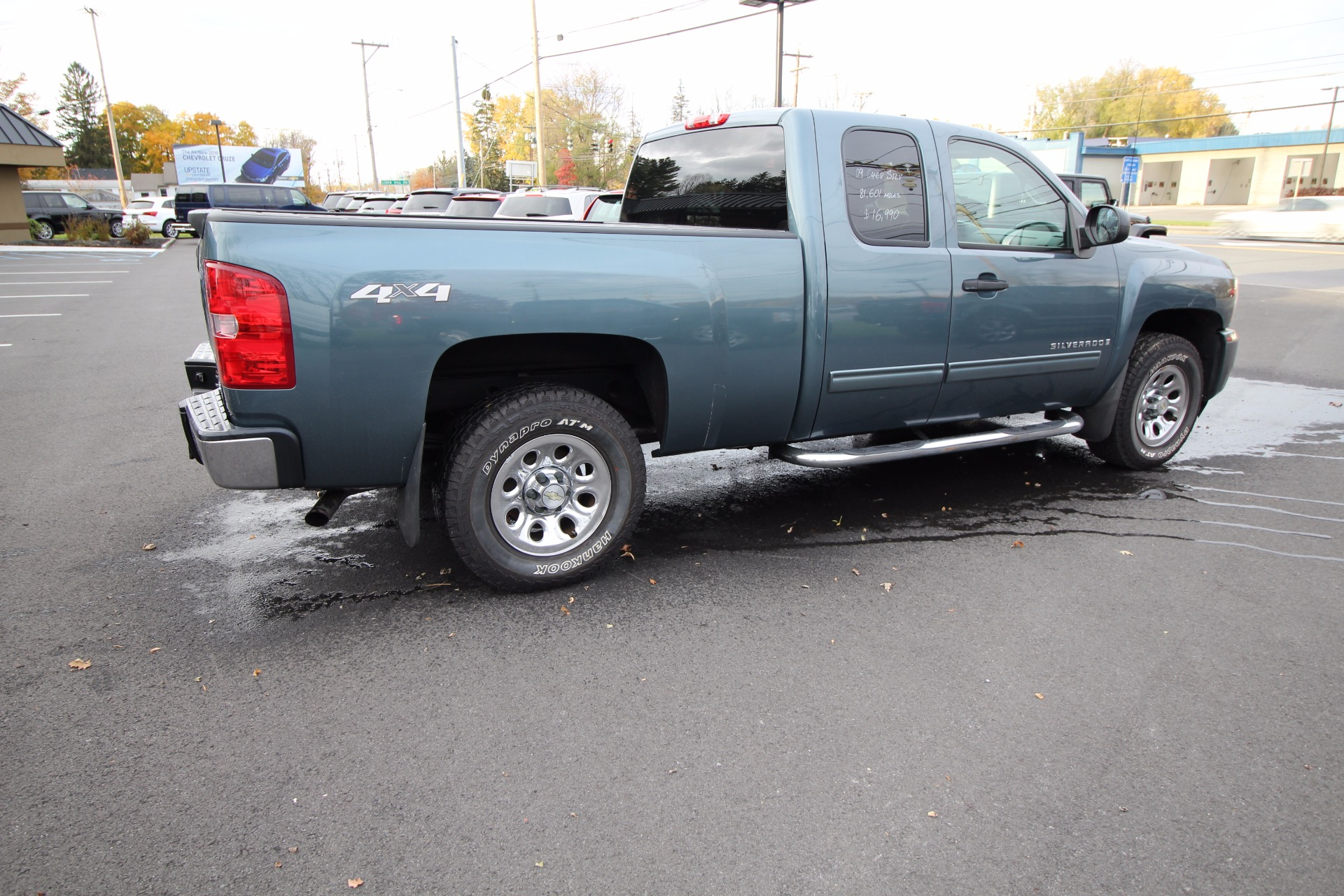 2009 chevrolet silverado 1500 work truck ext cab long box 4wd stock 16103 for sale near. Black Bedroom Furniture Sets. Home Design Ideas