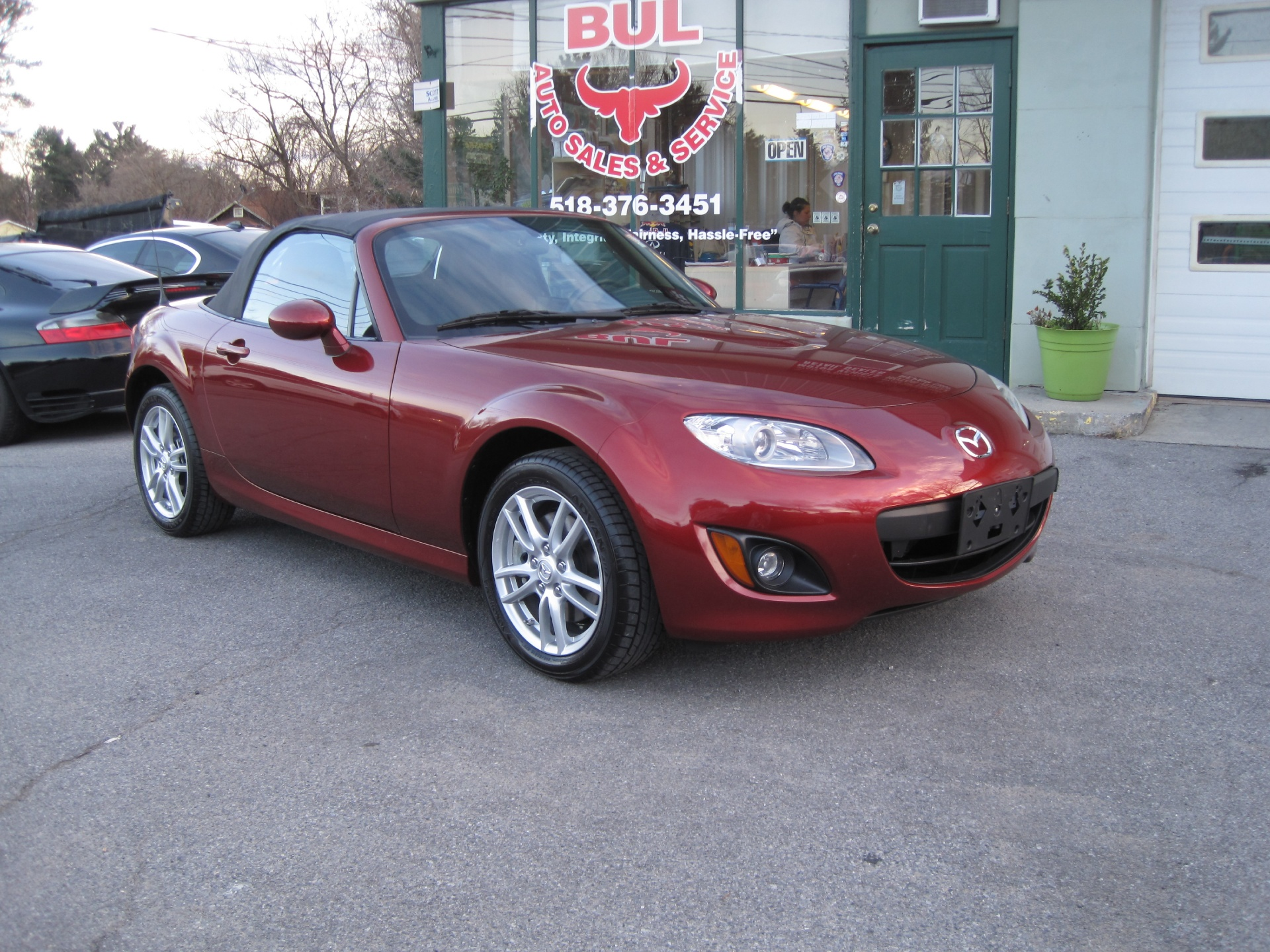 2012 mazda mx 5 miata sport automatic like new super low. Black Bedroom Furniture Sets. Home Design Ideas