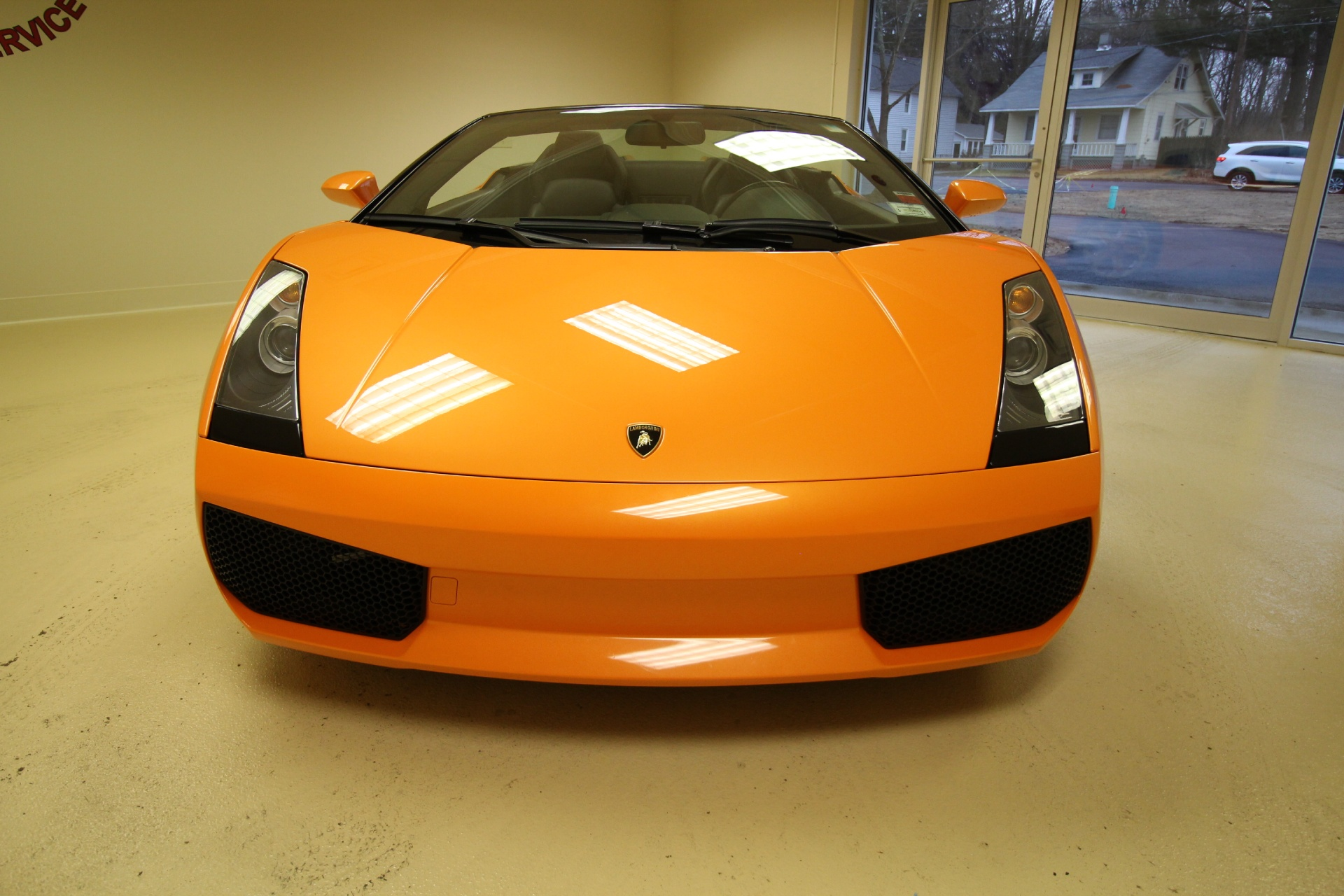 2006 lamborghini gallardo spyder super clean no paintwork. Black Bedroom Furniture Sets. Home Design Ideas