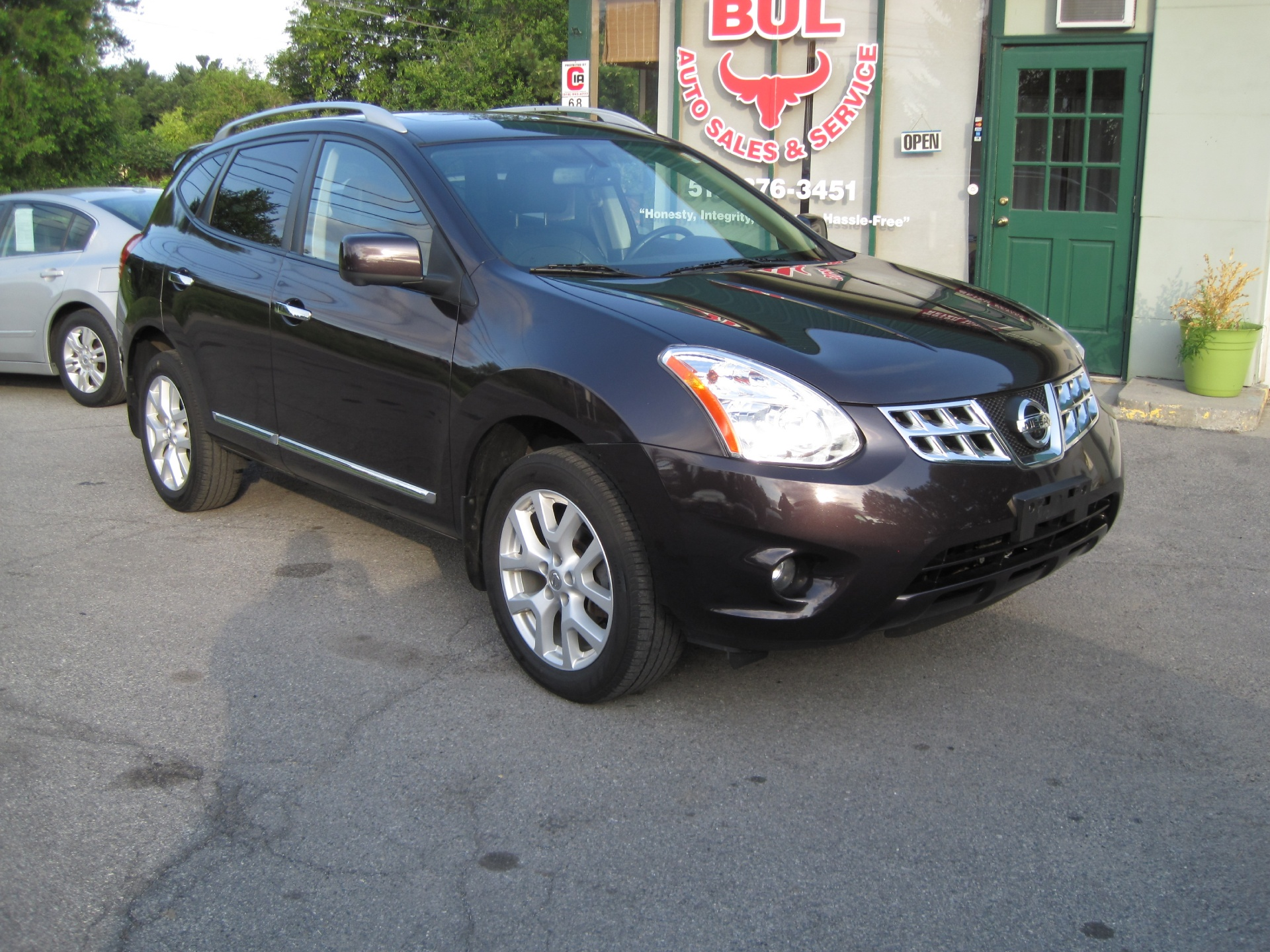 2013 nissan rogue sv w sl package loaded leather xenons. Black Bedroom Furniture Sets. Home Design Ideas