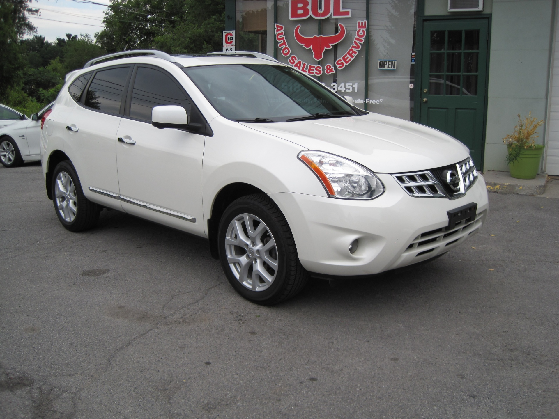 2012 nissan rogue sv w sl package awd loaded bose. Black Bedroom Furniture Sets. Home Design Ideas