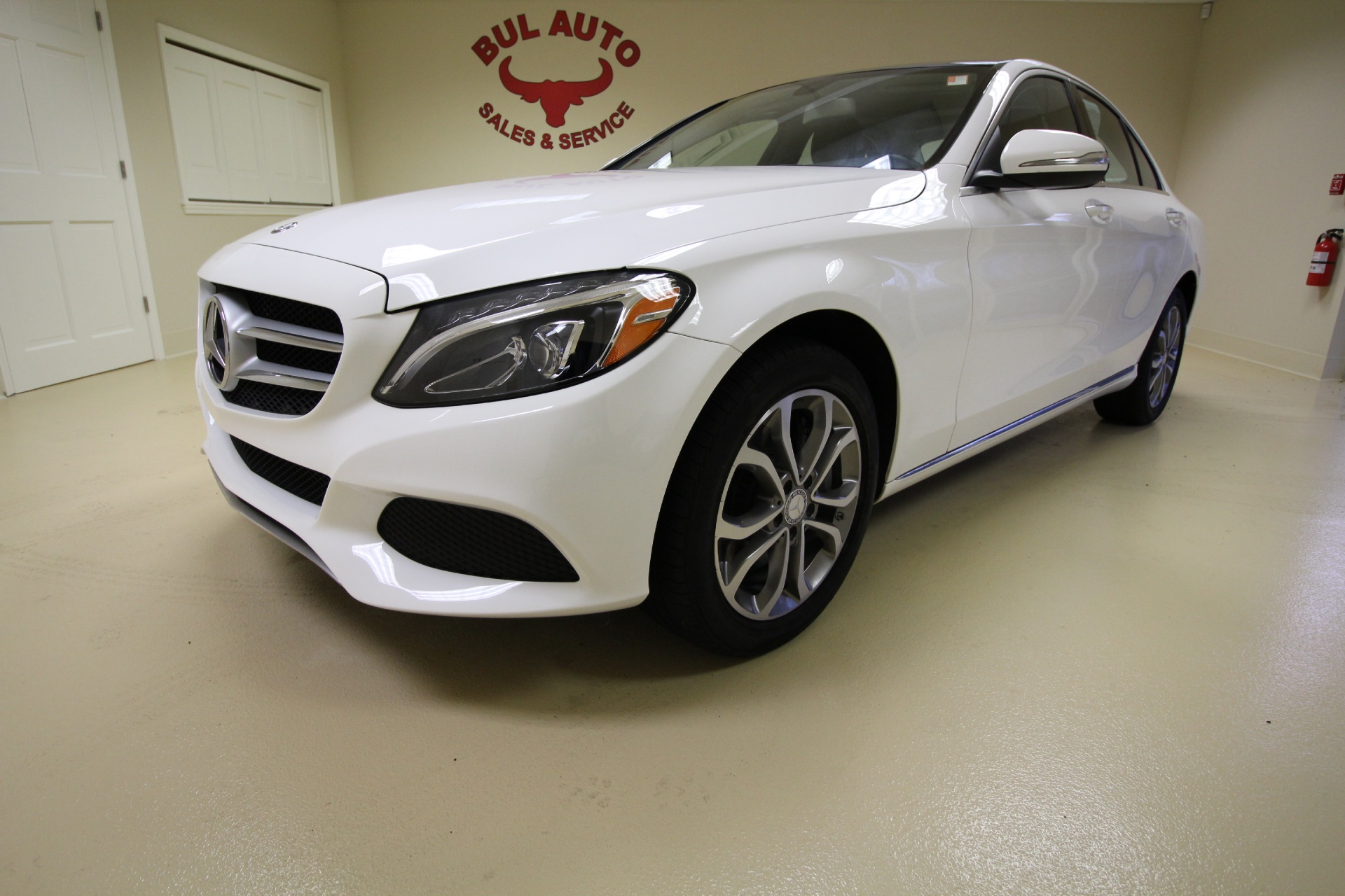 2015 mercedes benz c class c300 4matic awd loaded for Mercedes benz panoramic roof