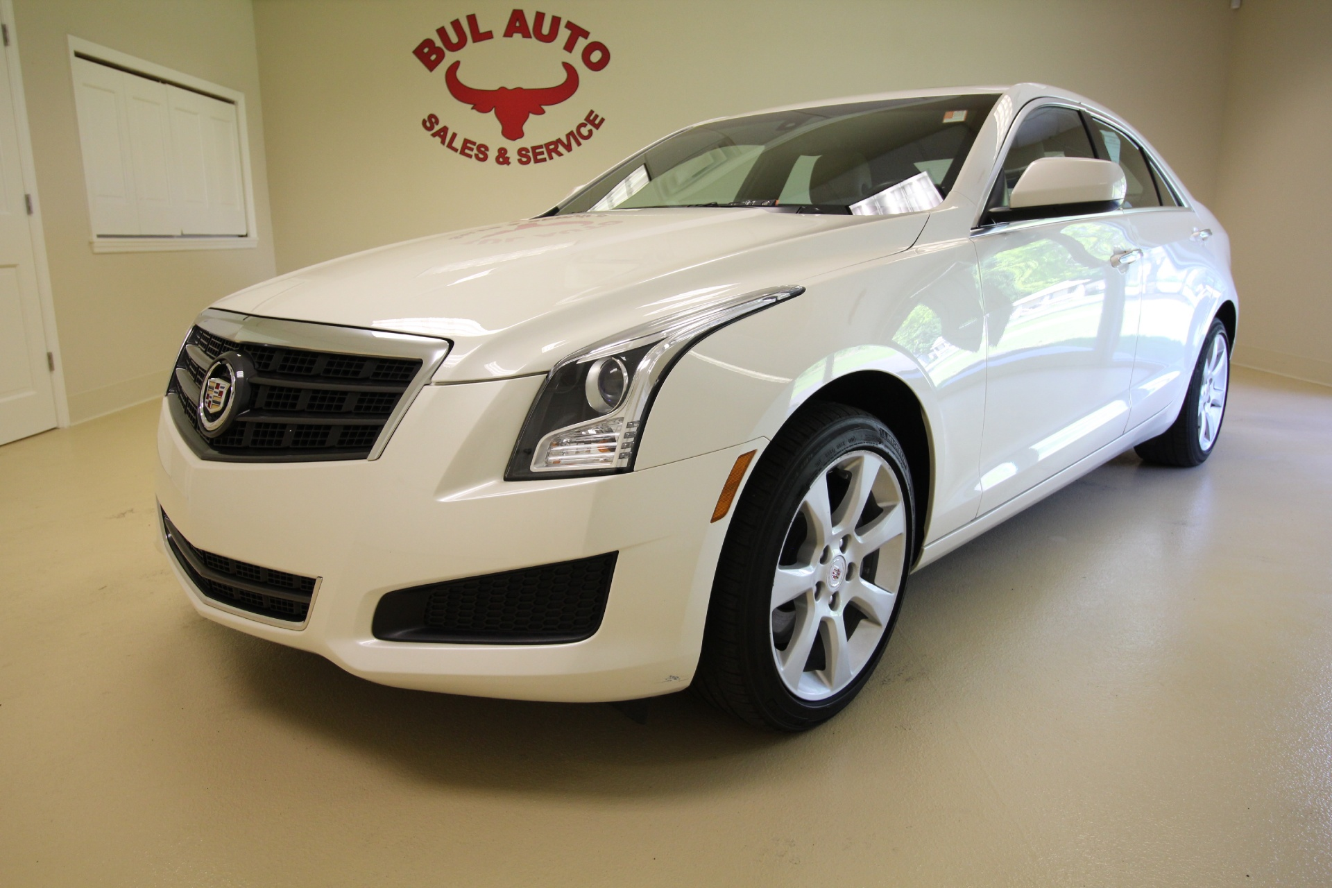 2013 cadillac ats 2 0t awd very clean low miles sunroof leather and more stock 16118 for sale. Black Bedroom Furniture Sets. Home Design Ideas