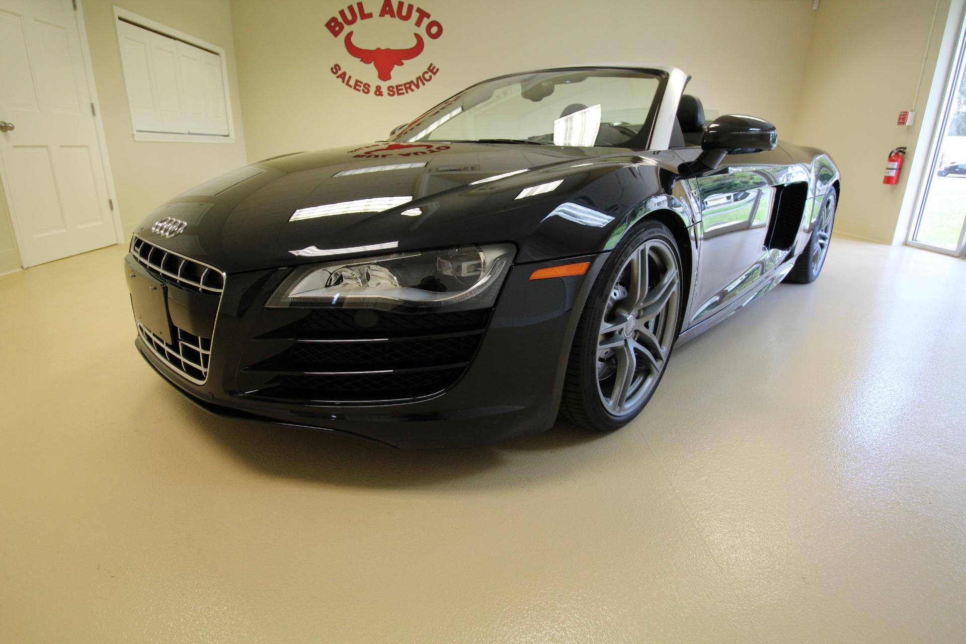 2011 audi r8 5 2 quattro spyder rare 6 speed manual like new stock rh bulautosales com Lamborghini Gallardo vs Audi R8 audi r8 auto or manual