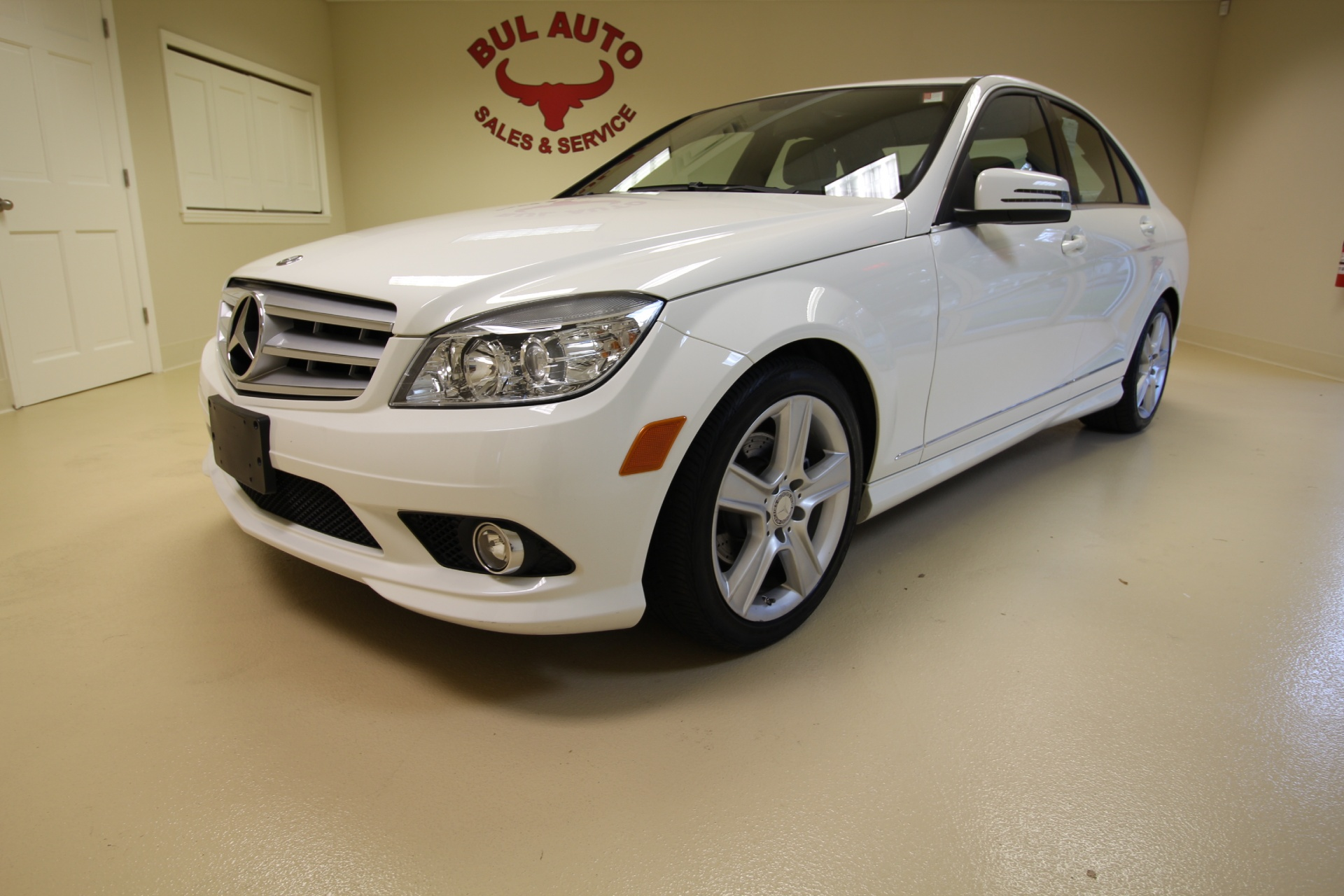 2010 mercedes benz c class c300 sport sedan stock 16276