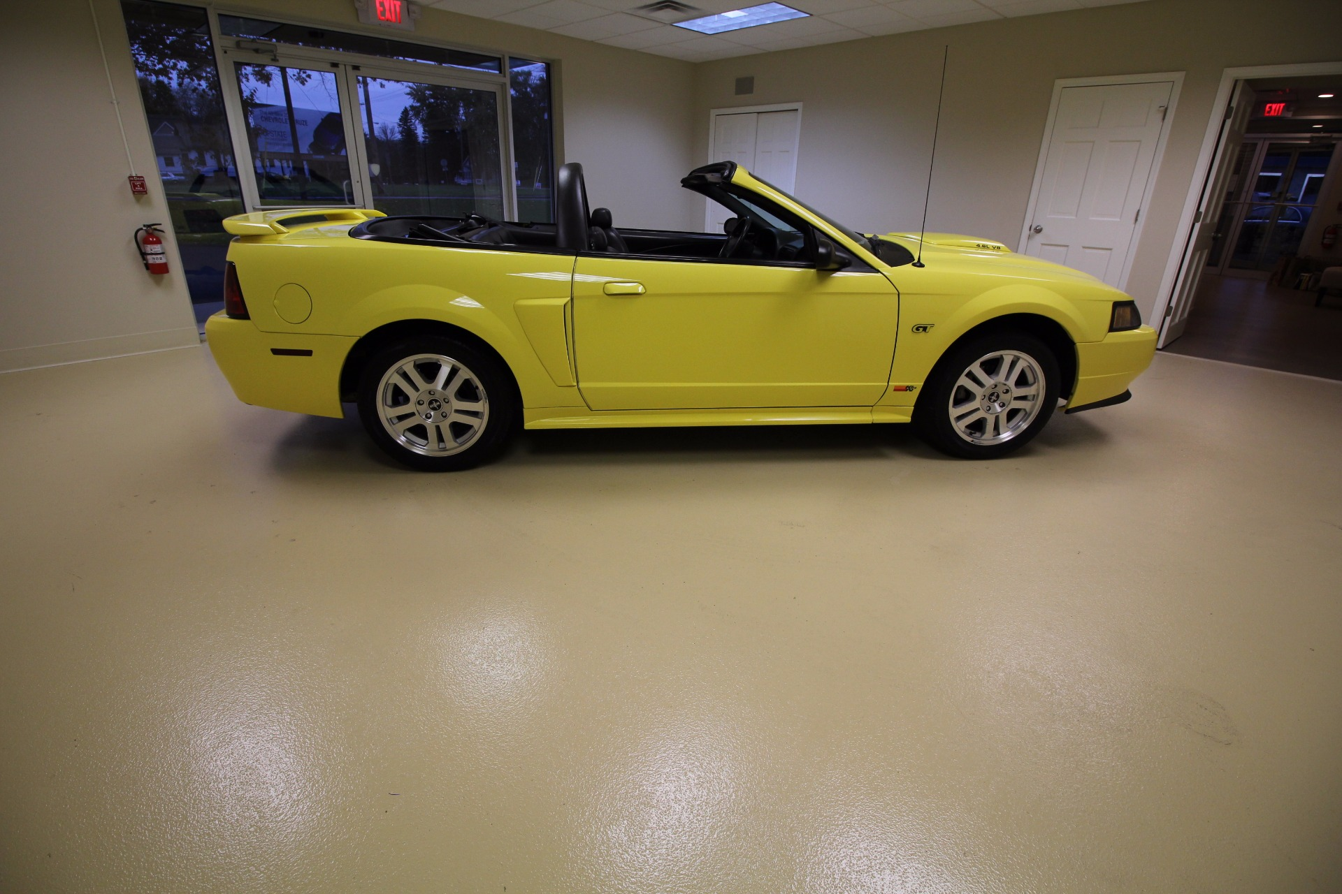 2001 ford mustang gt premium convertible stock 16280 for sale near