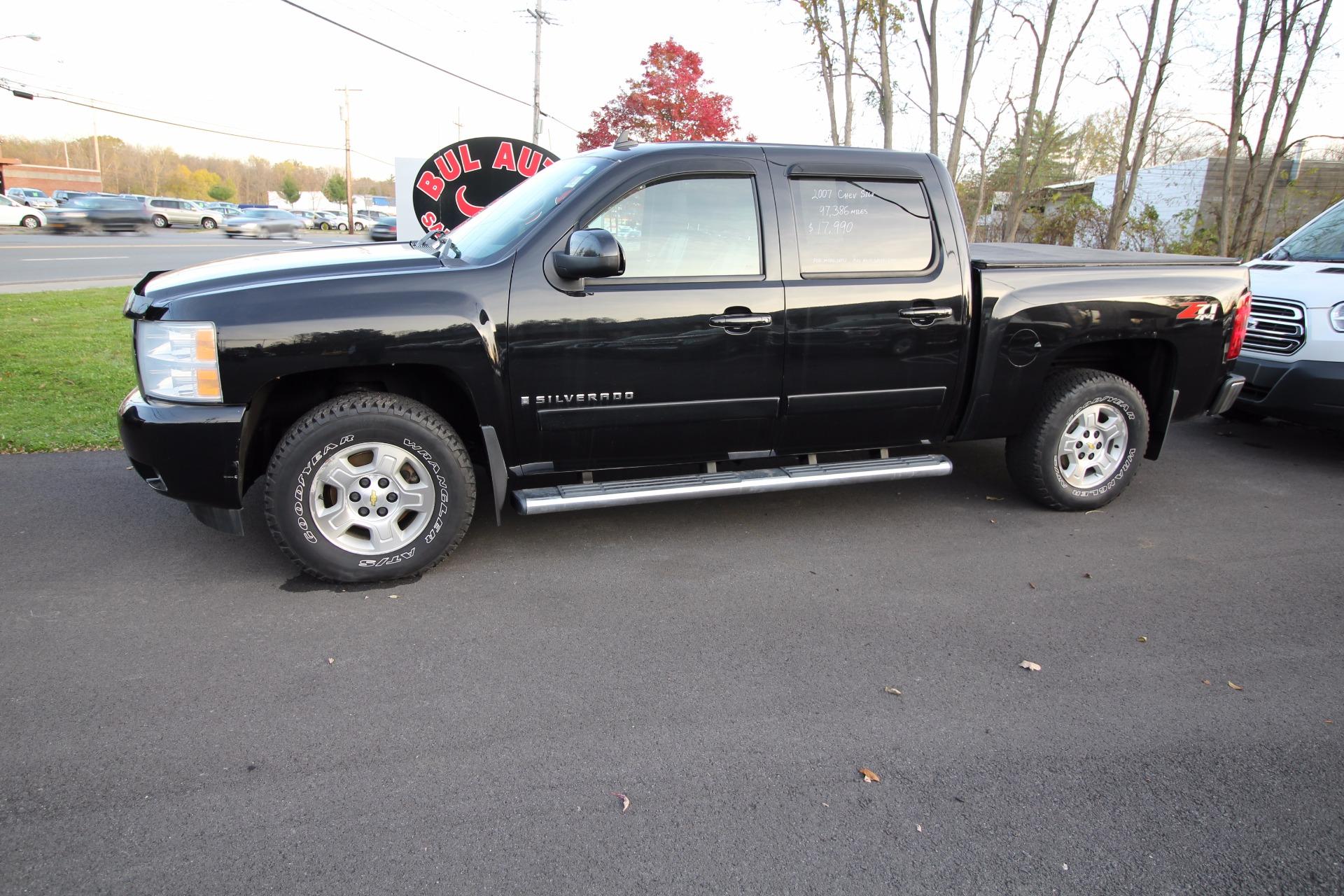 2007 Chevrolet Silverado 1500 Ltz Crew Cab 4wd Stock 16121 For Sale Near Albany Ny Ny