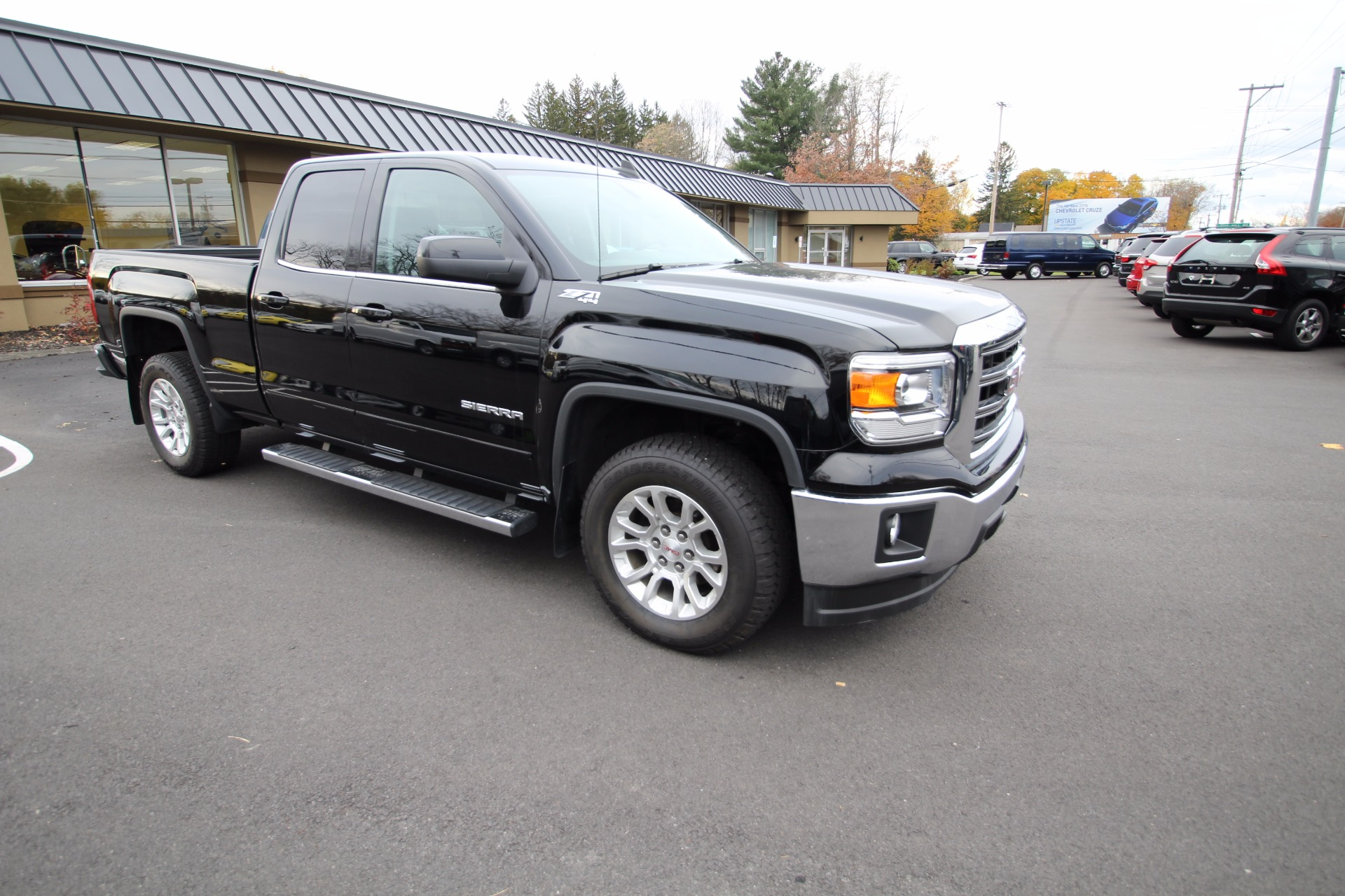 2015 gmc sierra 1500 sle z71 4wd 4x4 extended cab rearview. Black Bedroom Furniture Sets. Home Design Ideas