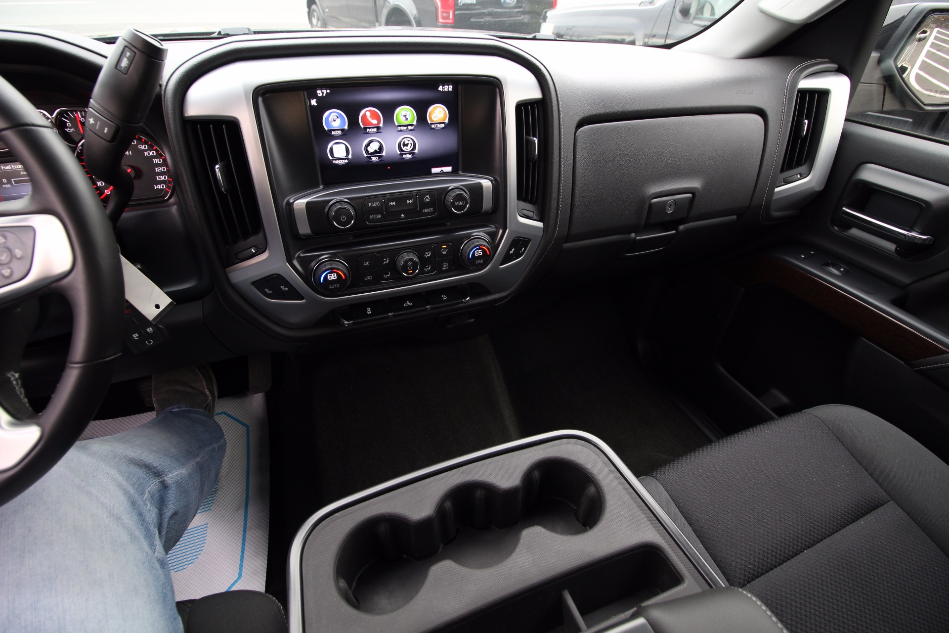 2015 Gmc Sierra 1500 Sle Z71 4wd 4x4 Extended Cab Rearview