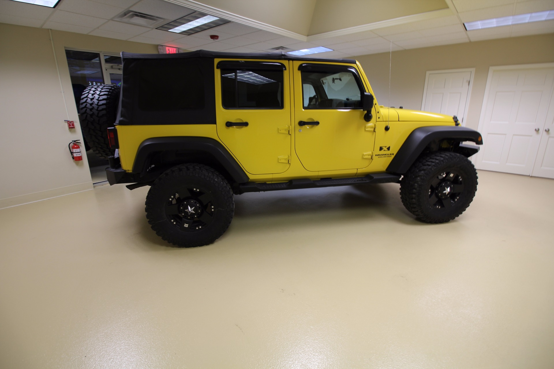 2008 jeep wrangler unlimited x 4wd stock # 17017 for  near