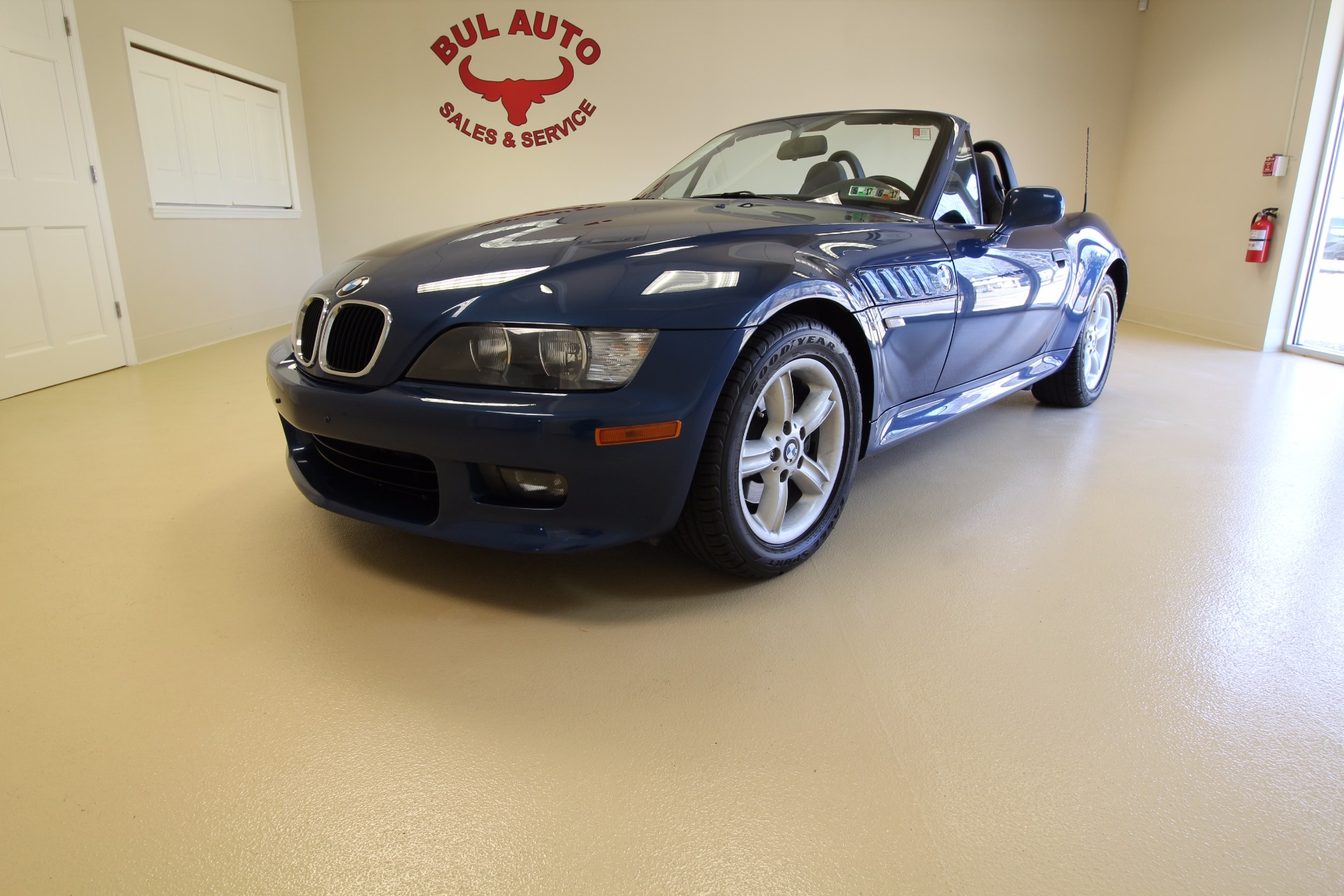 2002 Bmw Z3 Roadster 2 5i Stock 17038 For Sale Near
