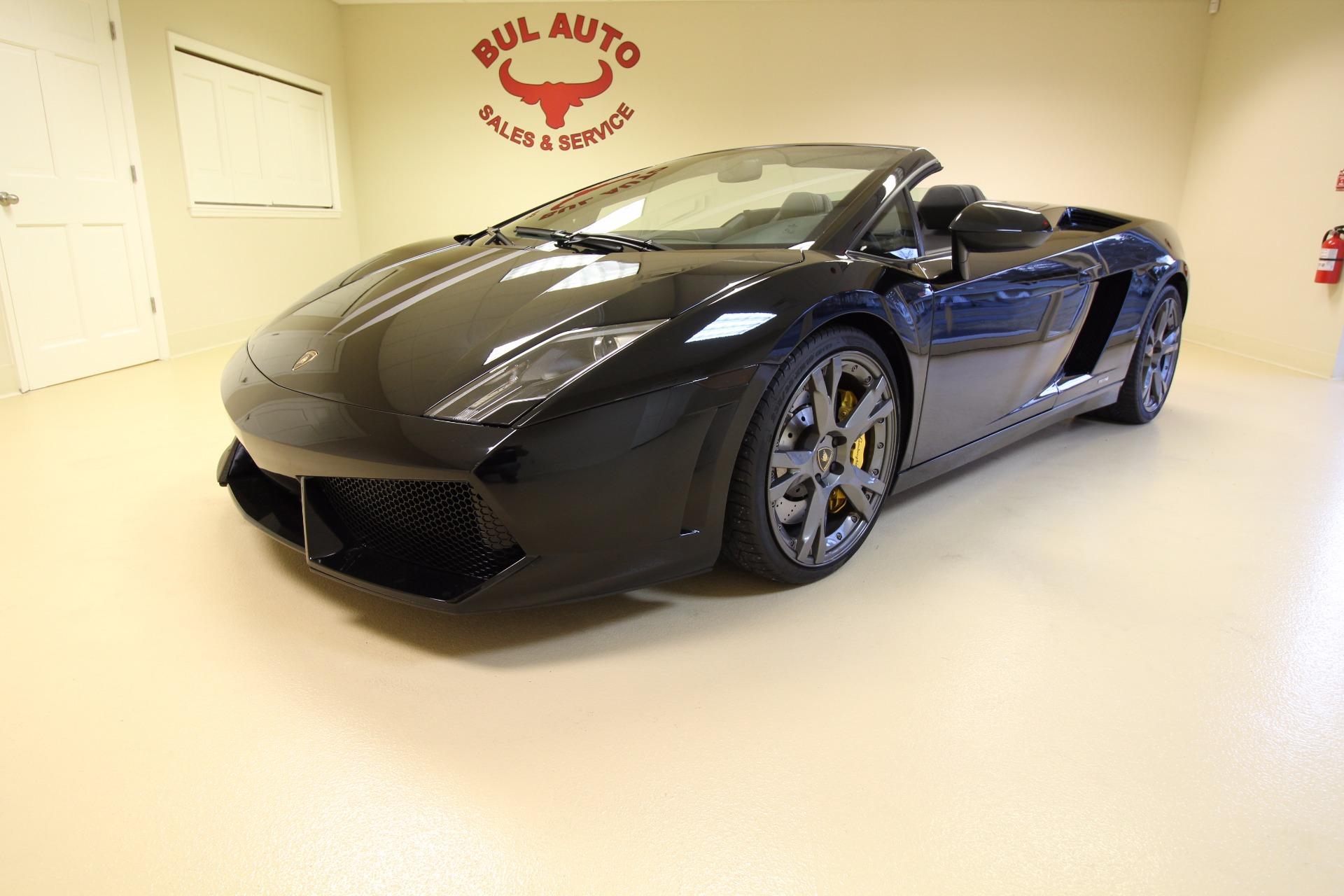 2010 Lamborghini Gallardo Lp560 4 Spyder Stock 17054 For Sale Near