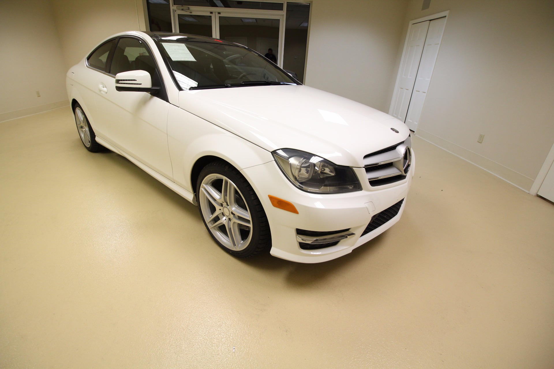 2013 mercedes benz c class c250 coupe stock 17061 for for Albany mercedes benz