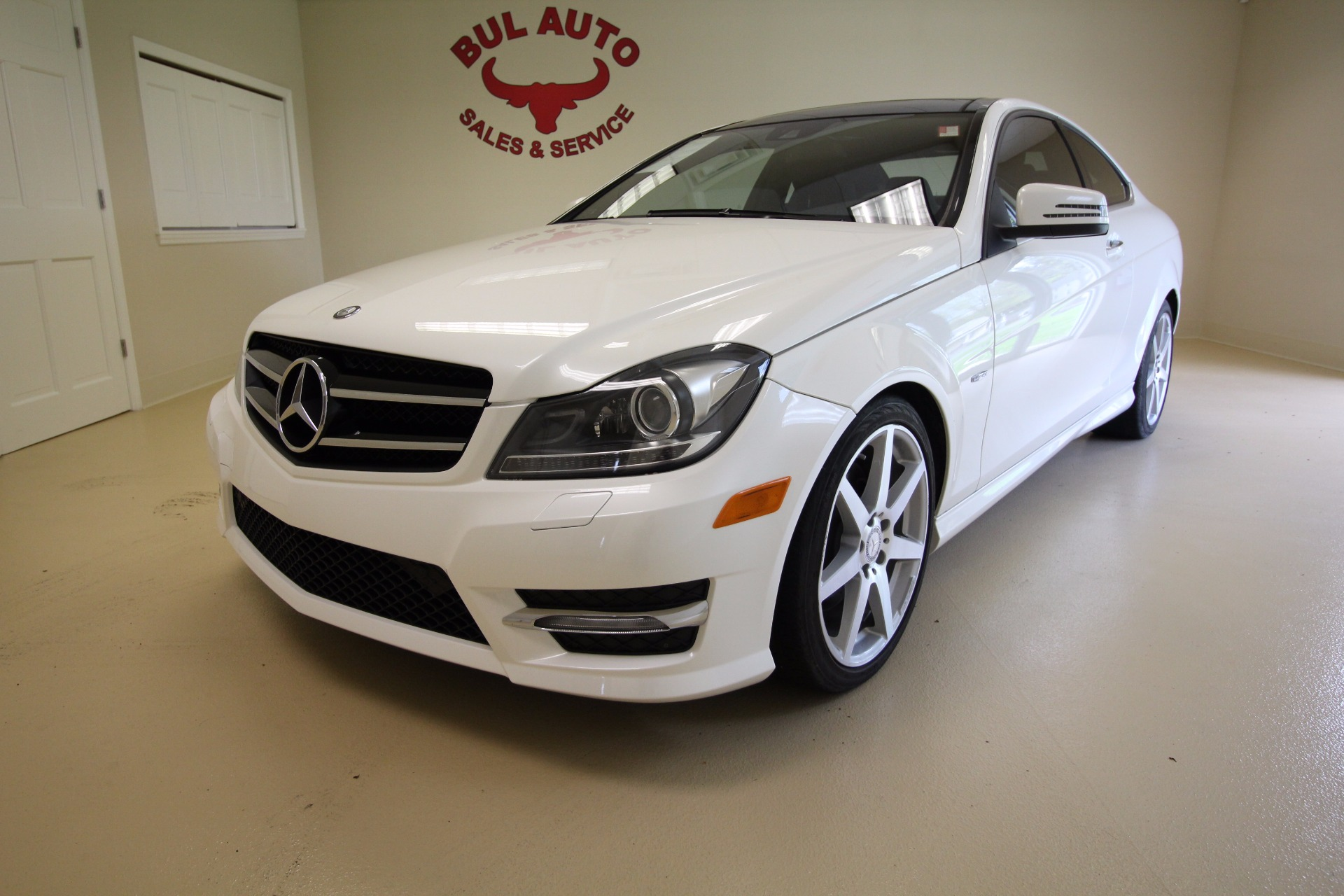 2012 mercedes benz c class c350 coupe 4matic stock 17088 for Mercedes benz c300 4matic 2012
