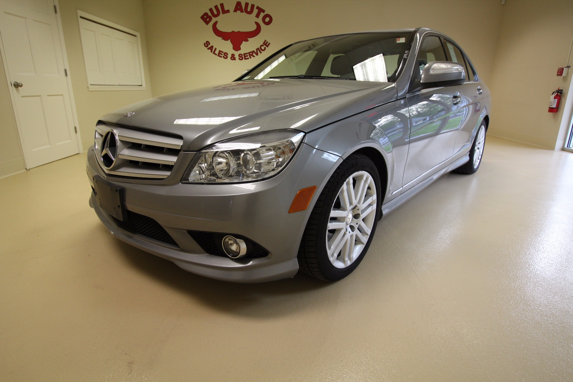 2009 mercedes benz c class c300 4matic sport sedan stock for Mercedes benz c300 sport 4matic