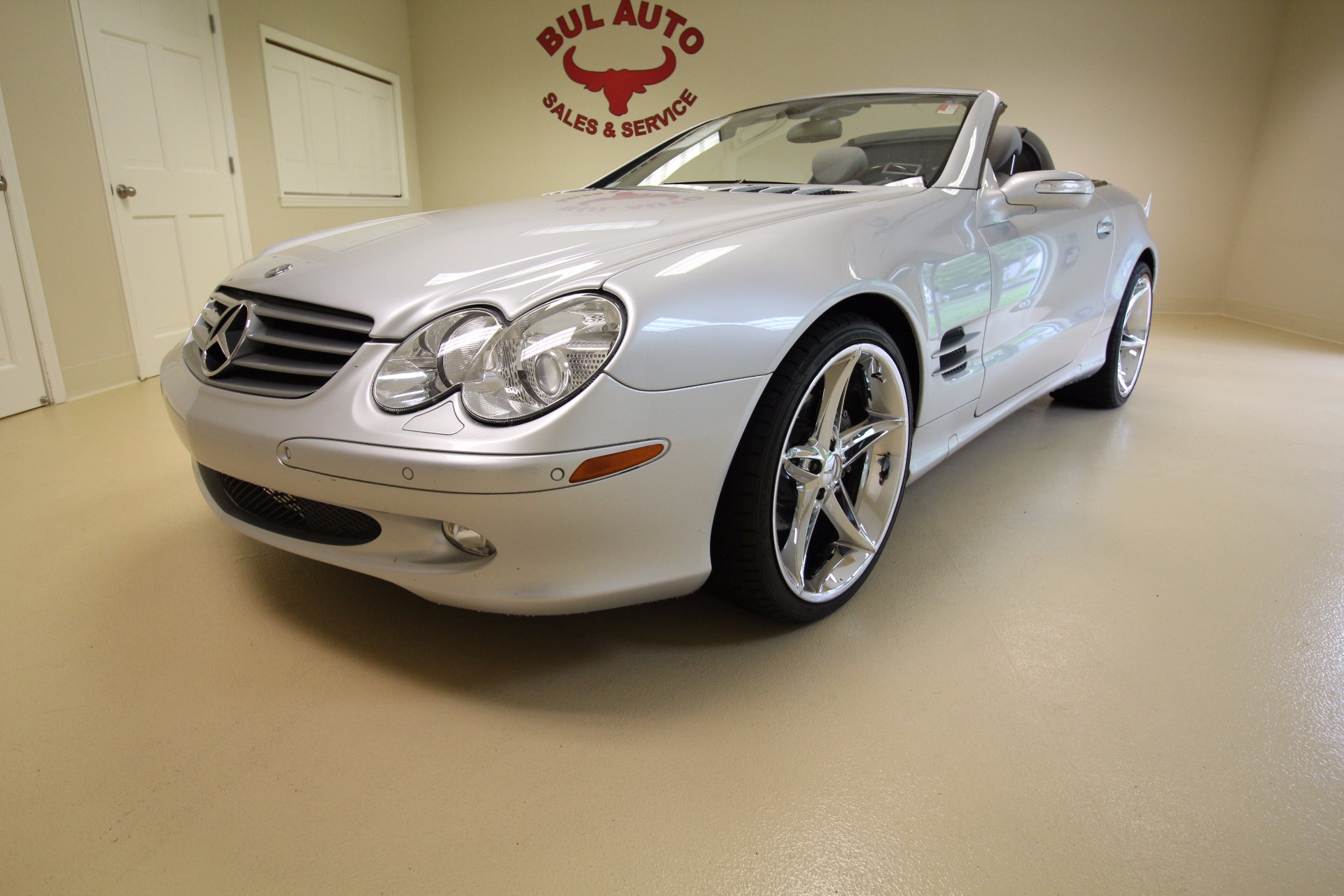 2006 mercedes benz sl class sl500 stock 17109 for sale for Mercedes benz sl class sl500