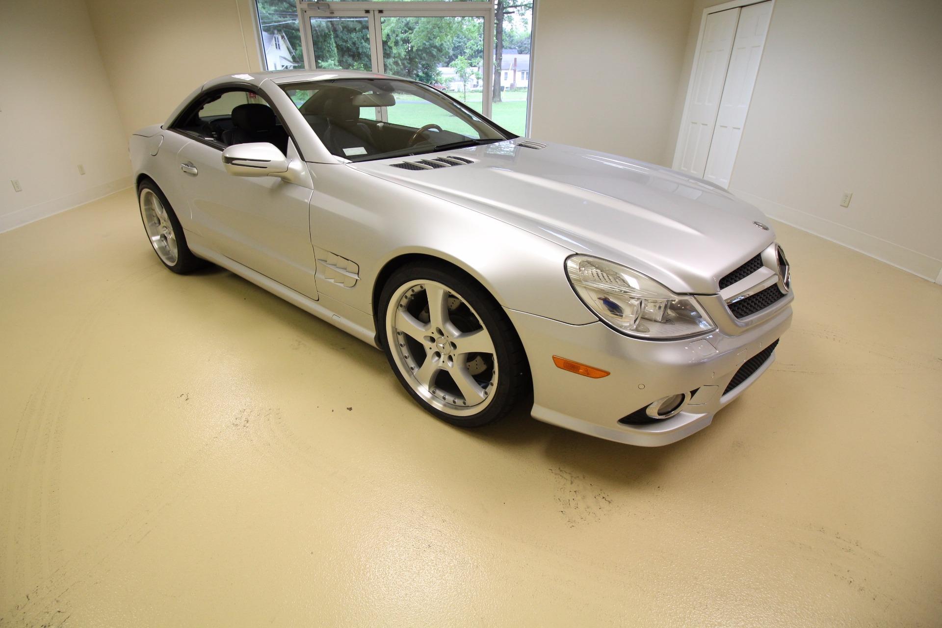 2009 Mercedes Benz Sl Class Sl550 Stock 17110 For Sale