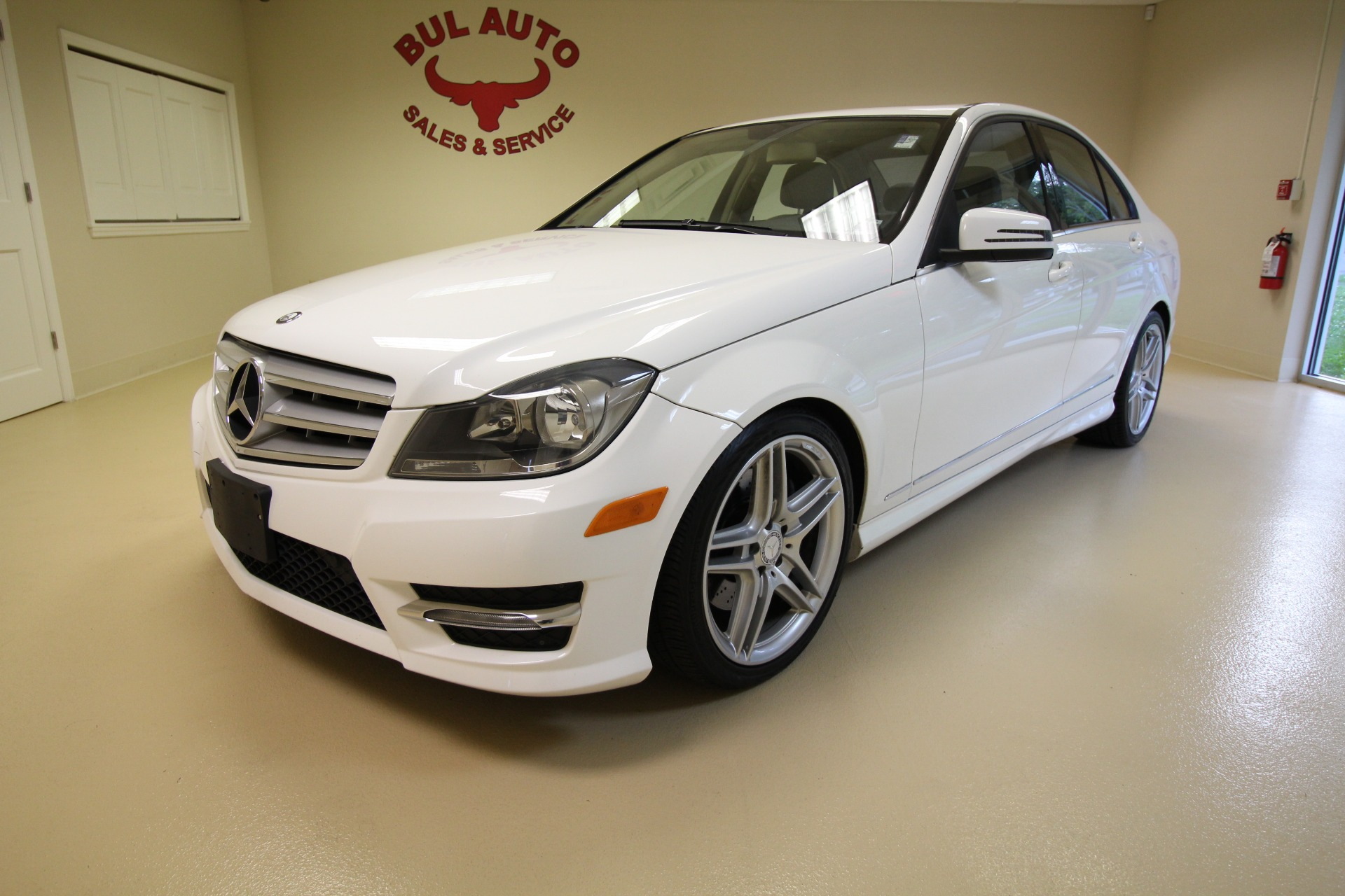2013 Mercedes Benz C Class C300 4MATIC Sport Sedan Stock for