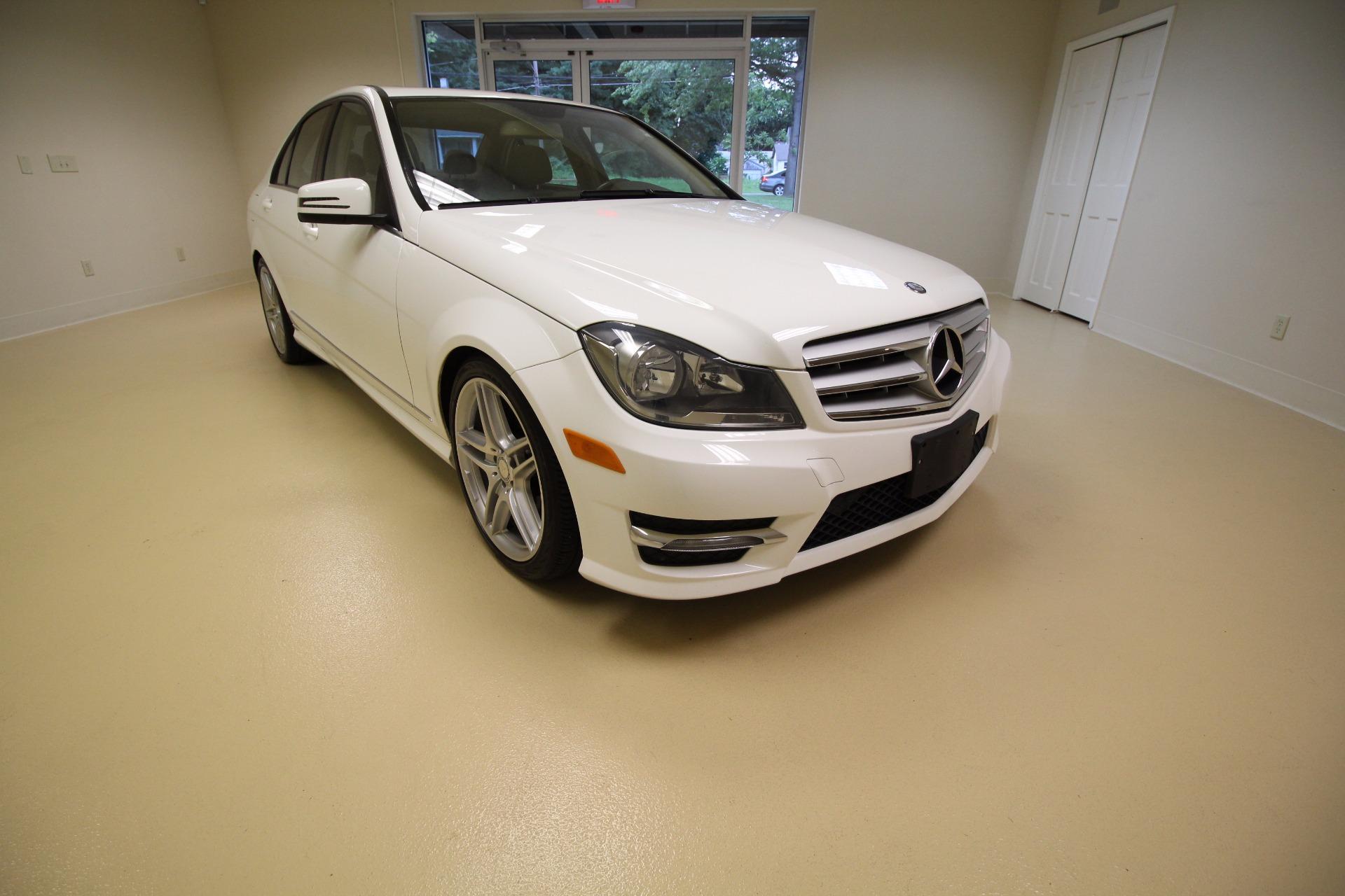2013 mercedes benz c class c300 4matic sport sedan stock for Mercedes benz dealers in ny