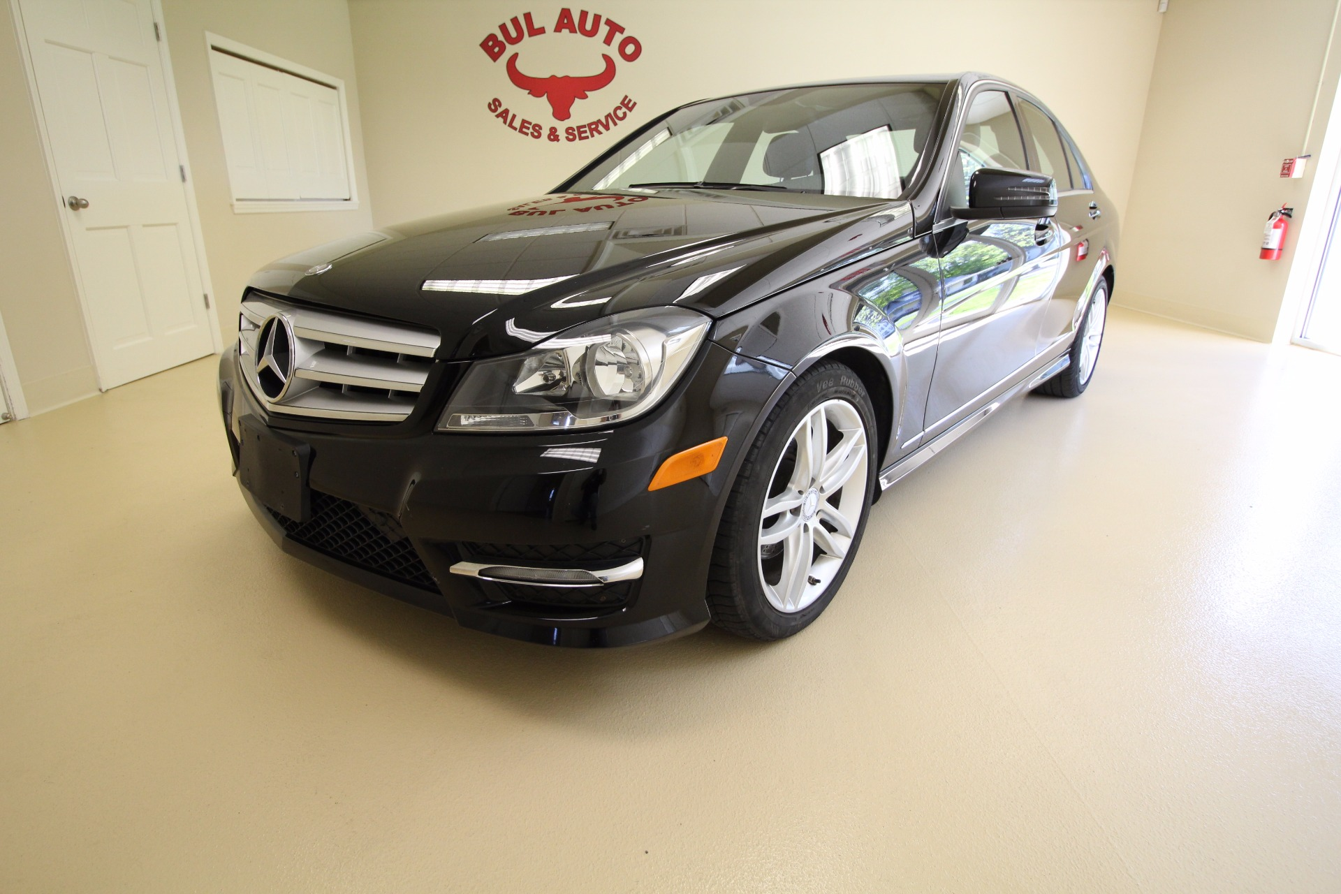 2012 mercedes benz c class c300 4matic sport sedan stock