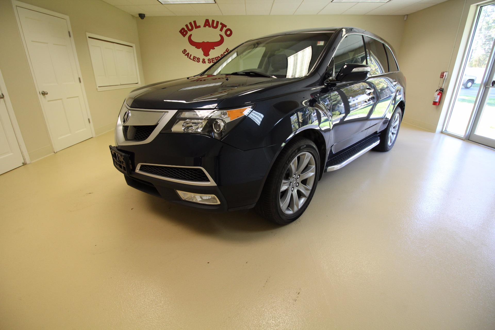 2012 acura mdx 6 spd at w advance package stock 17183. Black Bedroom Furniture Sets. Home Design Ideas
