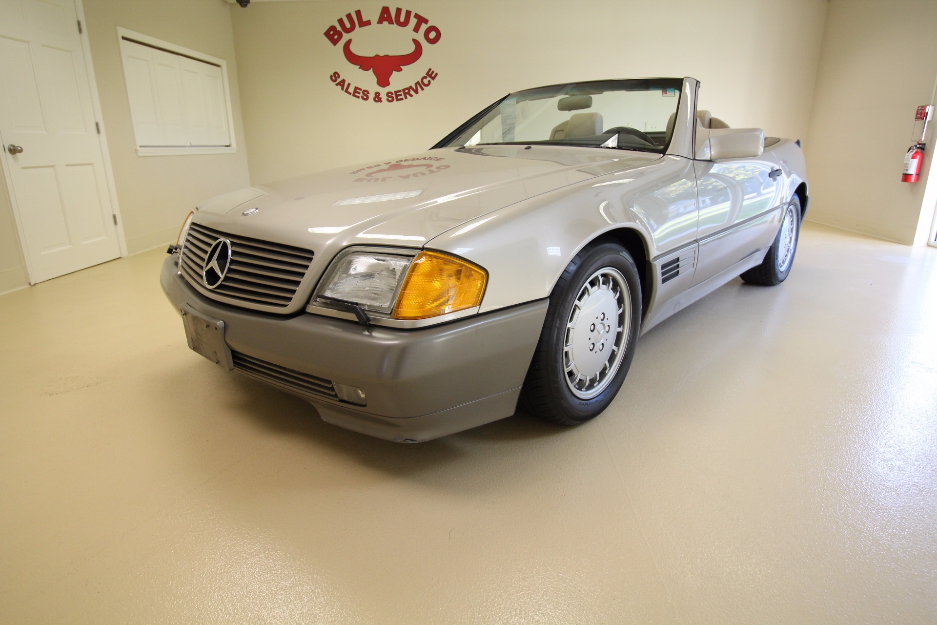 1992 Mercedes Benz SL Class 500SL coupe Stock for sale near