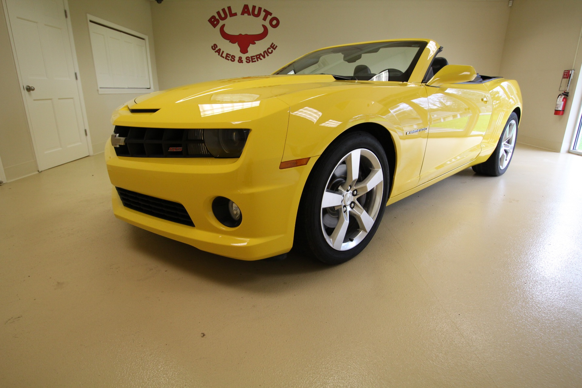 2011 Chevrolet Camaro Convertible 2ss Stock 18078 For