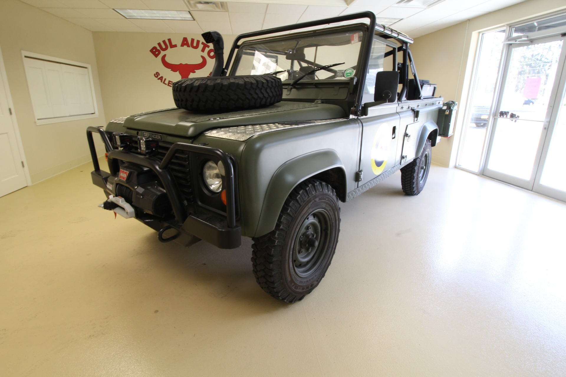1986 Land Rover Defender D110 110 military Stock for sale
