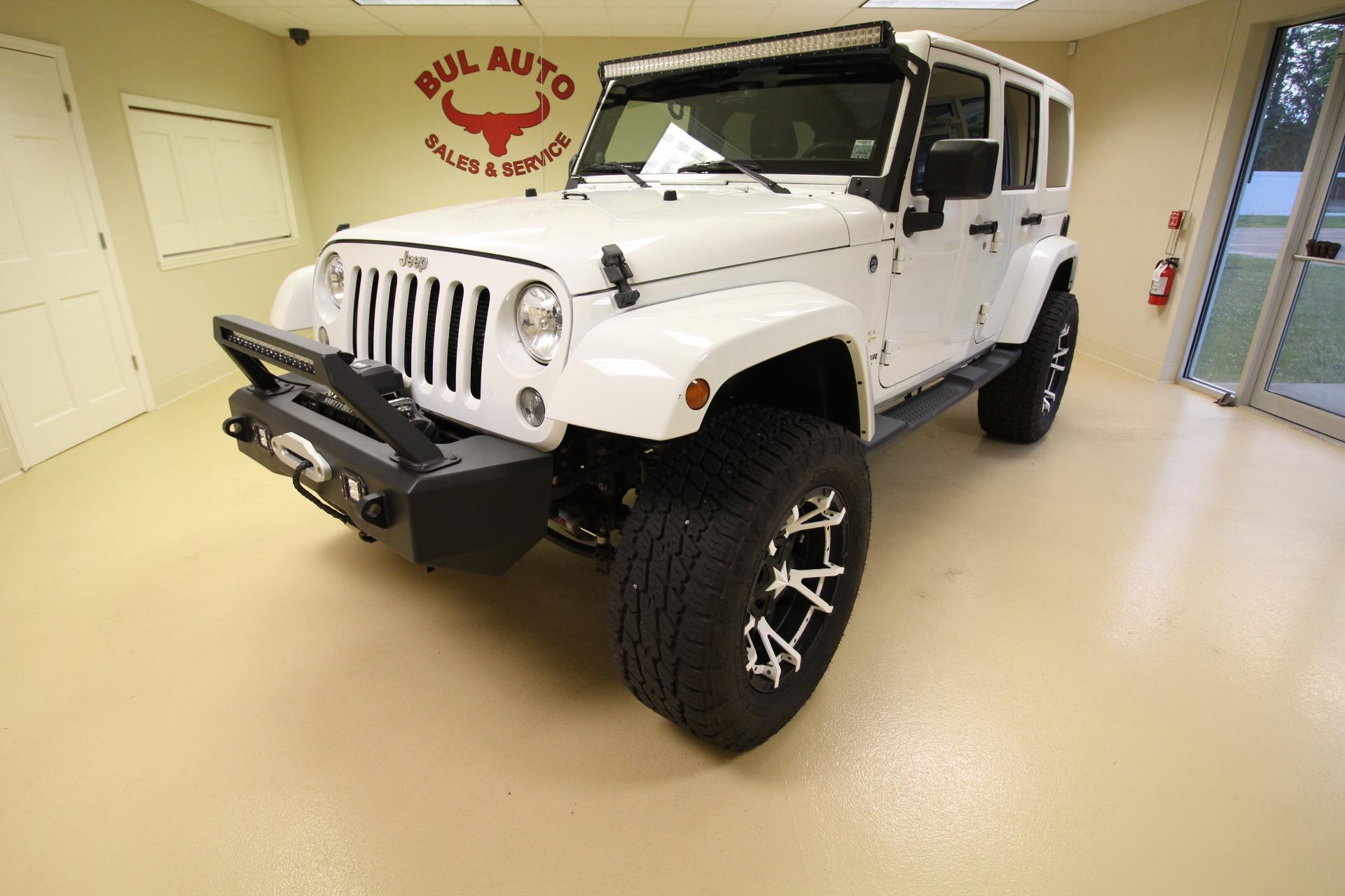 Used 2014 Jeep Wrangler Unlimited Sahara 4WD | Albany, NY