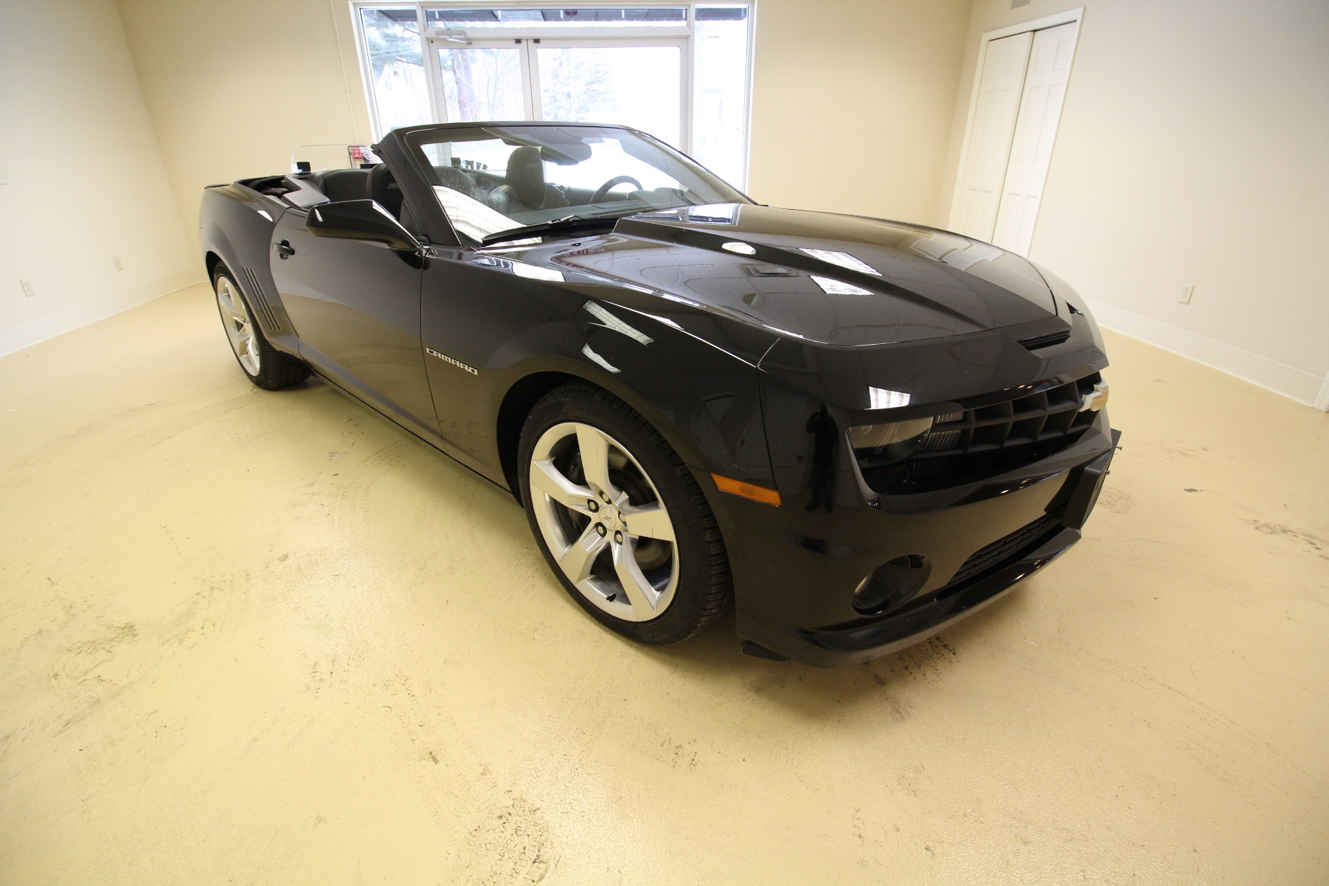 2011 Chevrolet Camaro Convertible 2ss Stock 19040 For