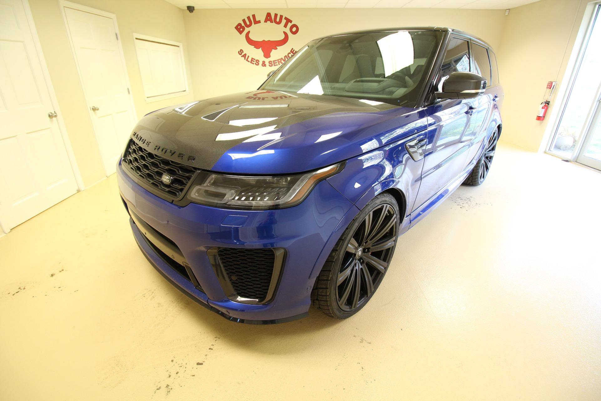 Used 2019 Land Rover Range Rover Sport SVR | Albany, NY