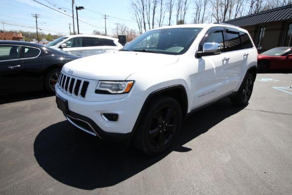Used 2016 Jeep Grand Cherokee-Albany, NY