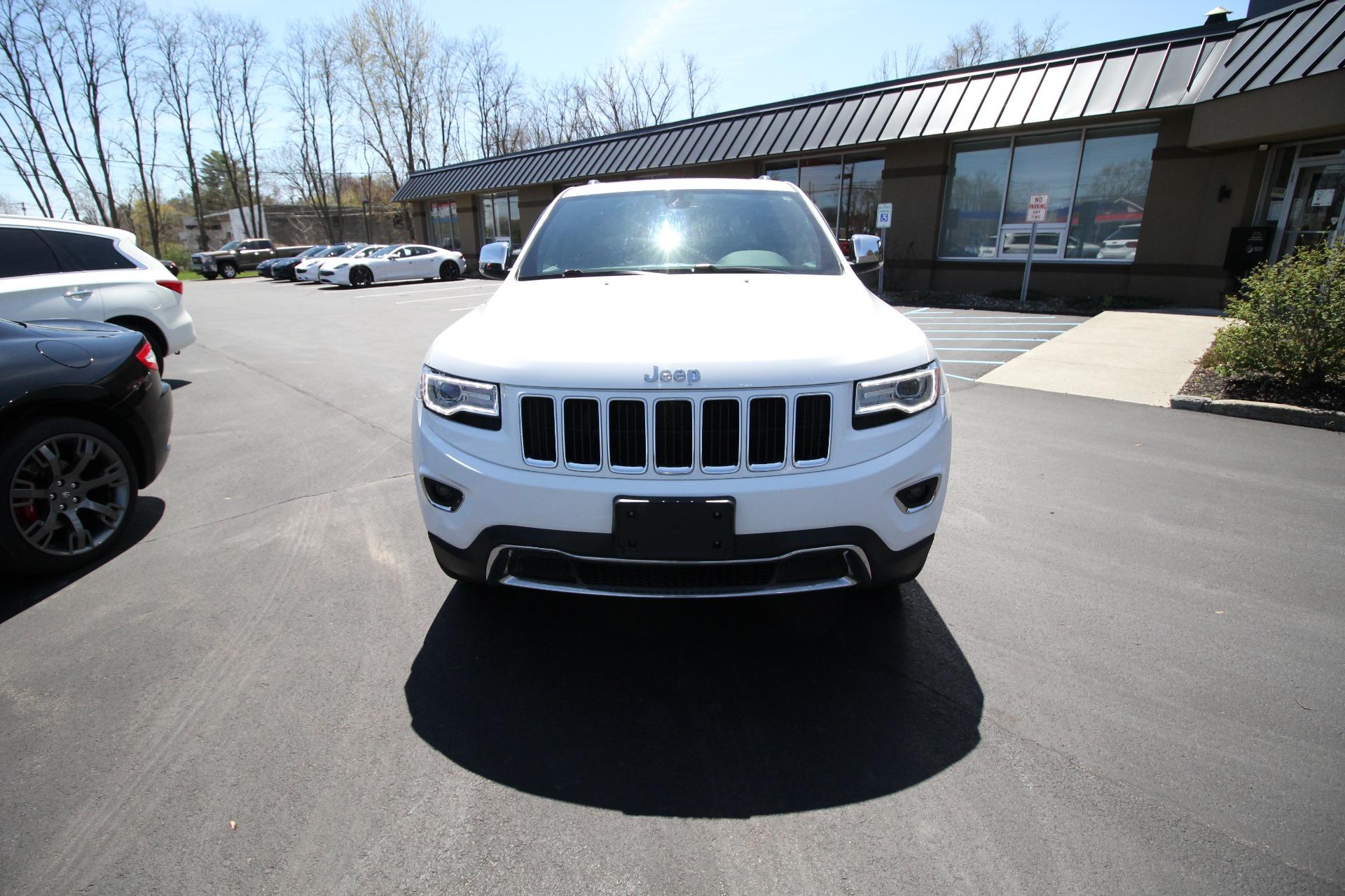 Used 2016 Jeep Grand Cherokee Limited 4WD | Albany, NY