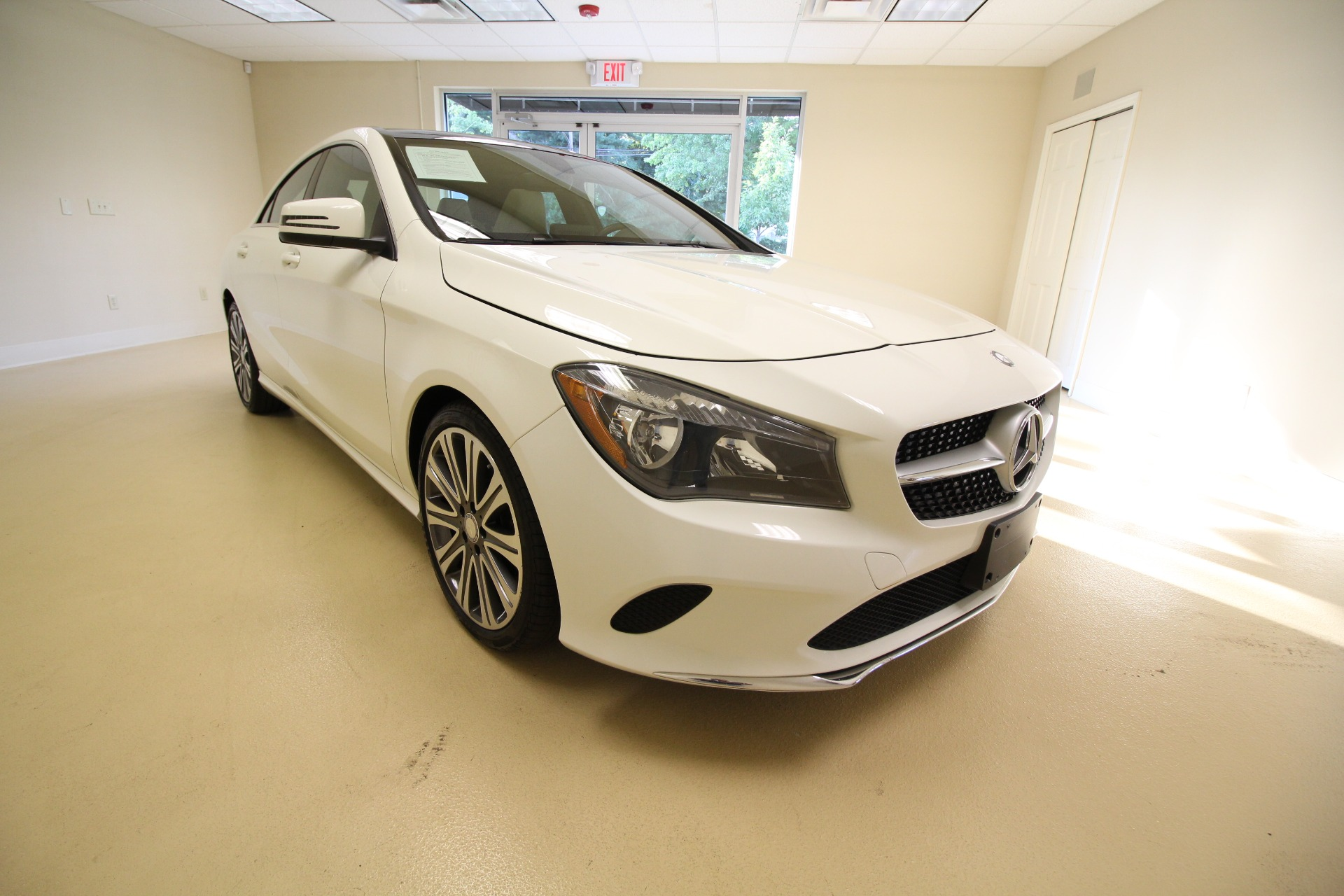Used 2017 Mercedes-Benz CLA-Class CLA250 4MATIC LOADED WHITE PANORAMIC ROOF | Albany, NY