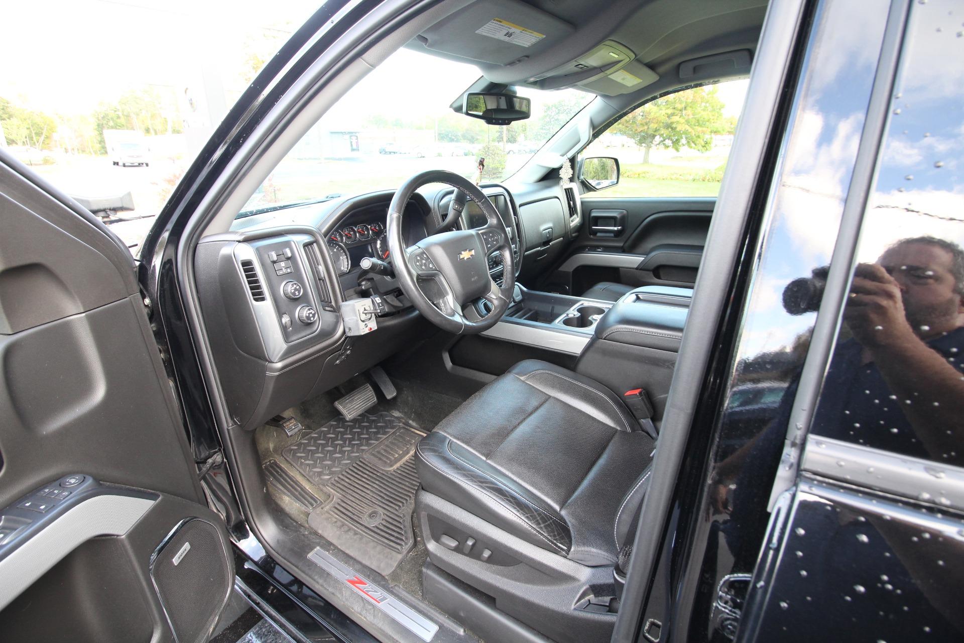 Used 2014 Chevrolet Silverado 1500 LTZ Z71 DOUBLE CAB 4WD LIKE NEW FISHER 7.5ft PLOW | Albany, NY