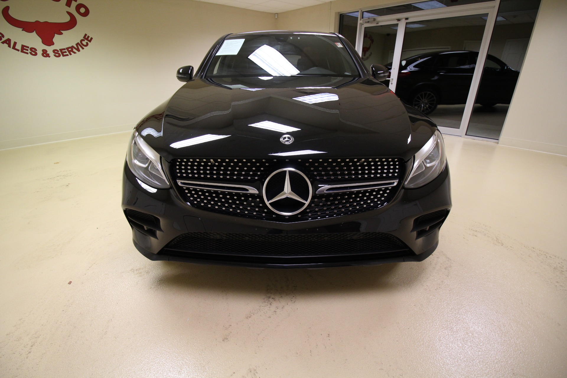Used 2018 Mercedes-Benz GLC-Class GLC300 4MATIC COUPE C4 LIKE NEW LOW MILES HOT RED INTERIOR | Albany, NY