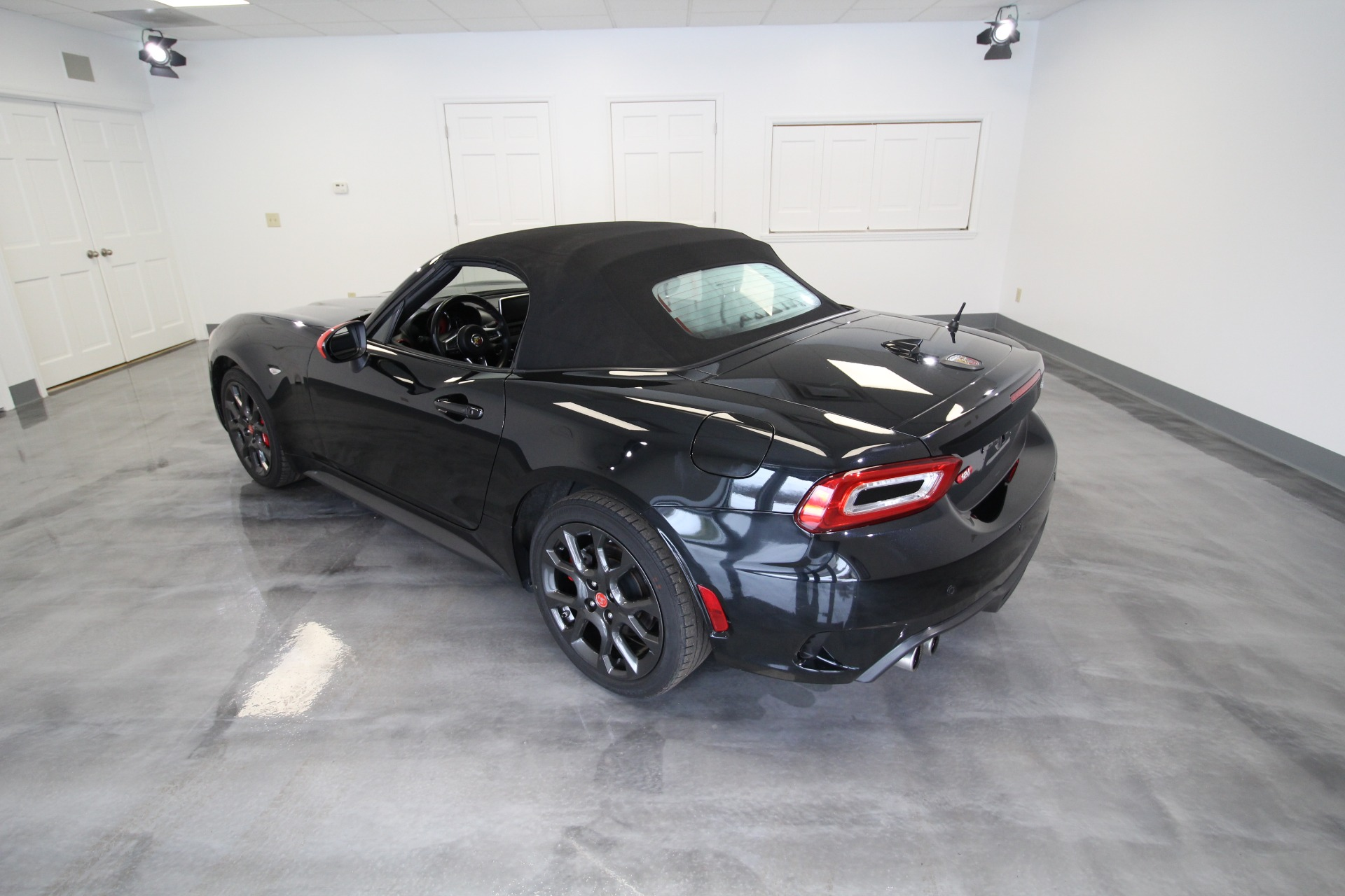 Used 2019 Fiat Spider 124 Abarth RARE COLOR COMBO BLACK ON RED LOW MILES LIKE NEW | Albany, NY
