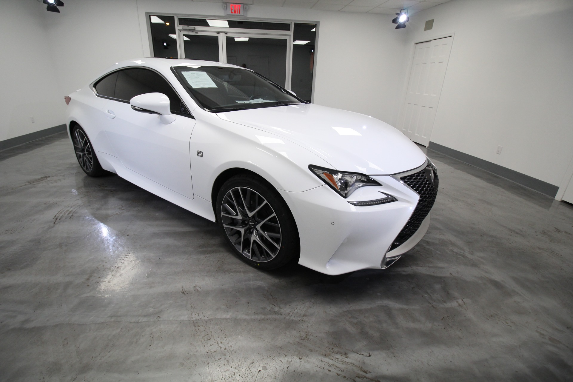 Used 2017 Lexus RC 350 RWD RARE WHITE ON RED SUPER HOT LOW MILES | Albany, NY
