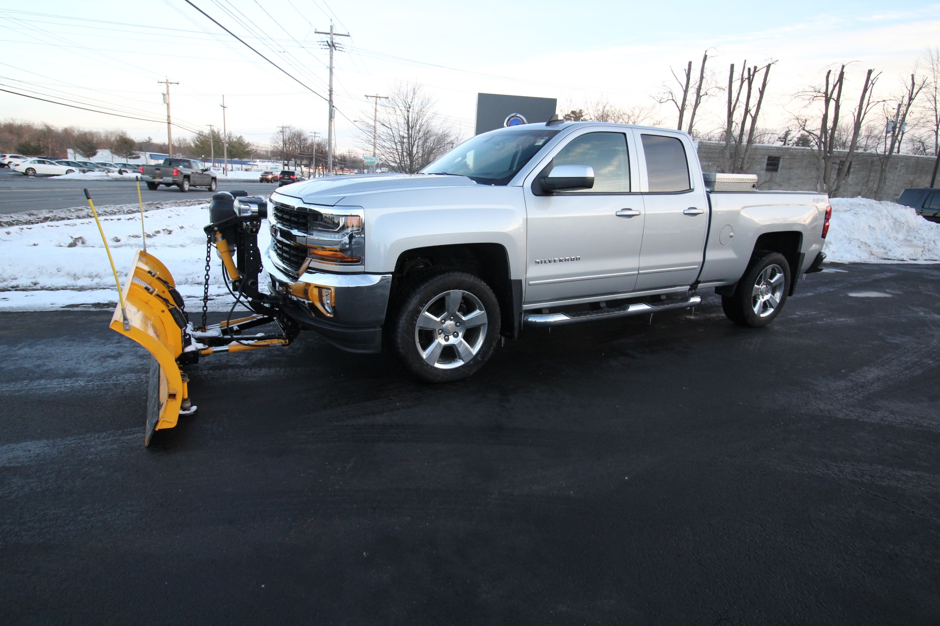 Used 2016 Chevrolet Silverado 1500 LT Double Cab 4WD WITH PLOW   Albany, NY