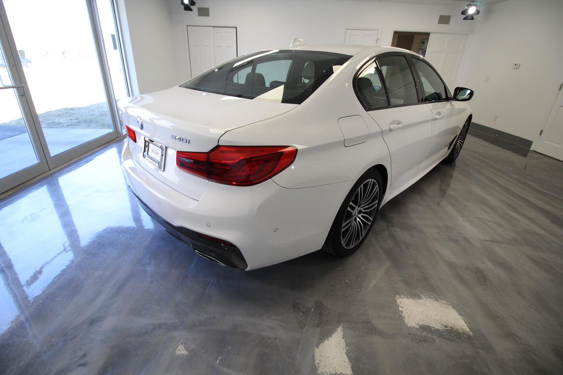 Used 2019 BMW 5-Series 540i xDrive M-SPORT RARE M SPORT AWD WHITE   Albany, NY