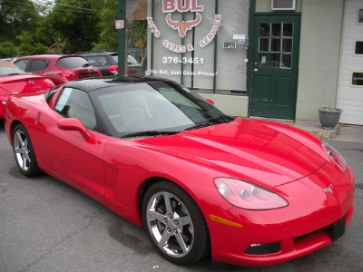 2008 Chevrolet Corvette COUPE 3LT