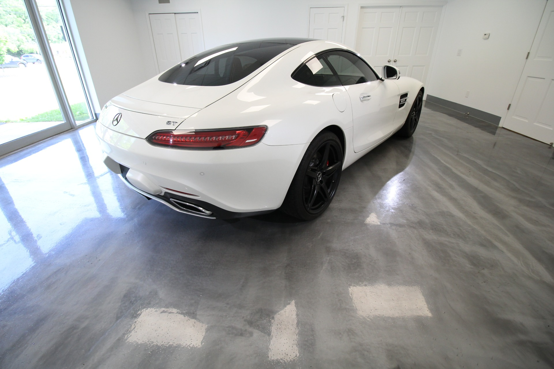 Used 2017 Mercedes-Benz AMG GT DIAMOND WHITE LOW MILES | Albany, NY