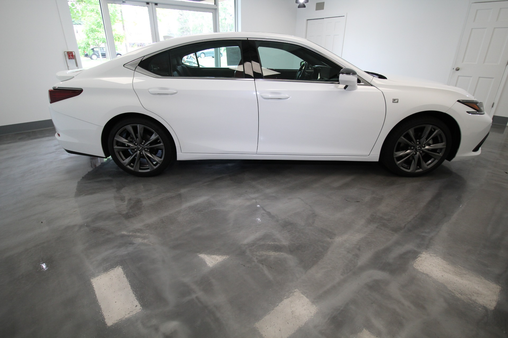 Used 2019 Lexus ES 350 F SPORT LOCAL 1 OWNER LOADED WHITE ON RED MARK LEVINSON AND MORE | Albany, NY