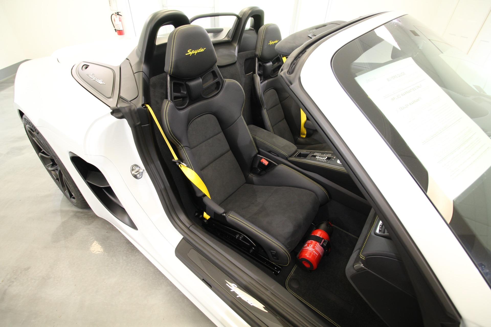 Used 2021 Porsche 718 Spyder Spyder LOADED WITH OPTIONS SUNNING SPEC | Albany, NY