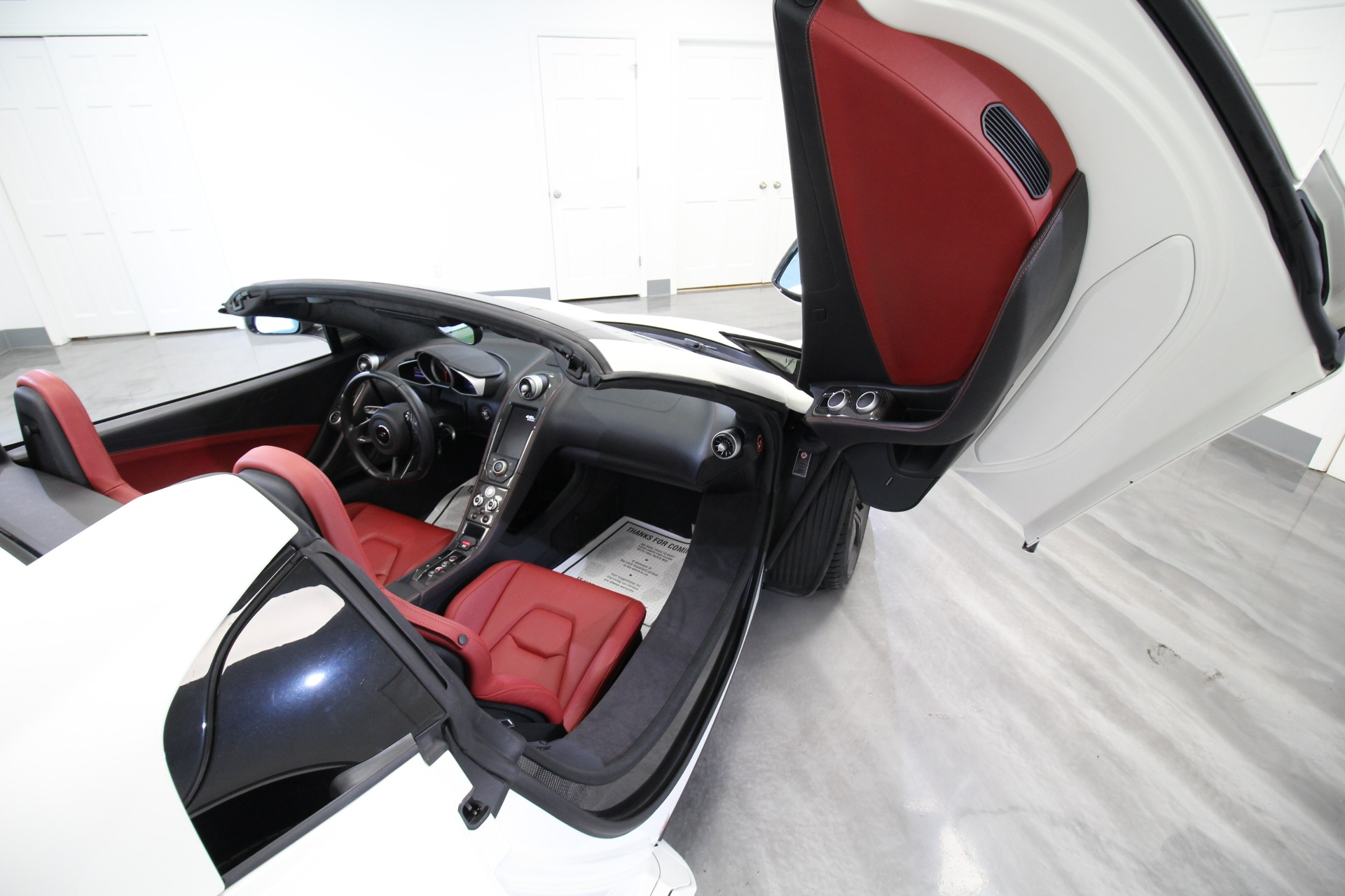 Used 2016 McLaren 650s Spider RARE COLOR COMBO WHITE ON RED STUNNING   Albany, NY