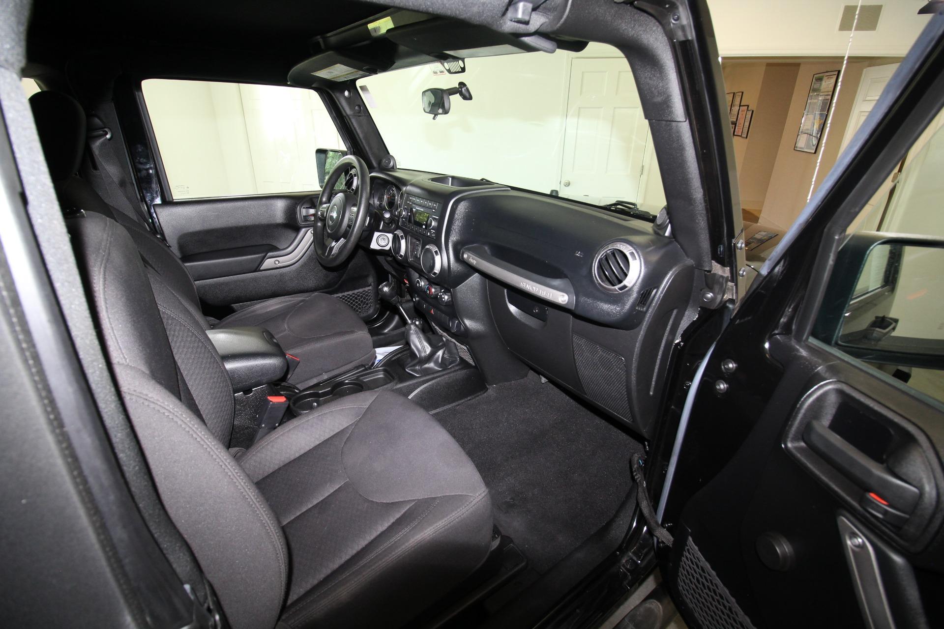 Used 2013 Jeep Wrangler Sport 4WD SUPER LOW MILES SUPER CLEAN SAHARA WHEELS | Albany, NY