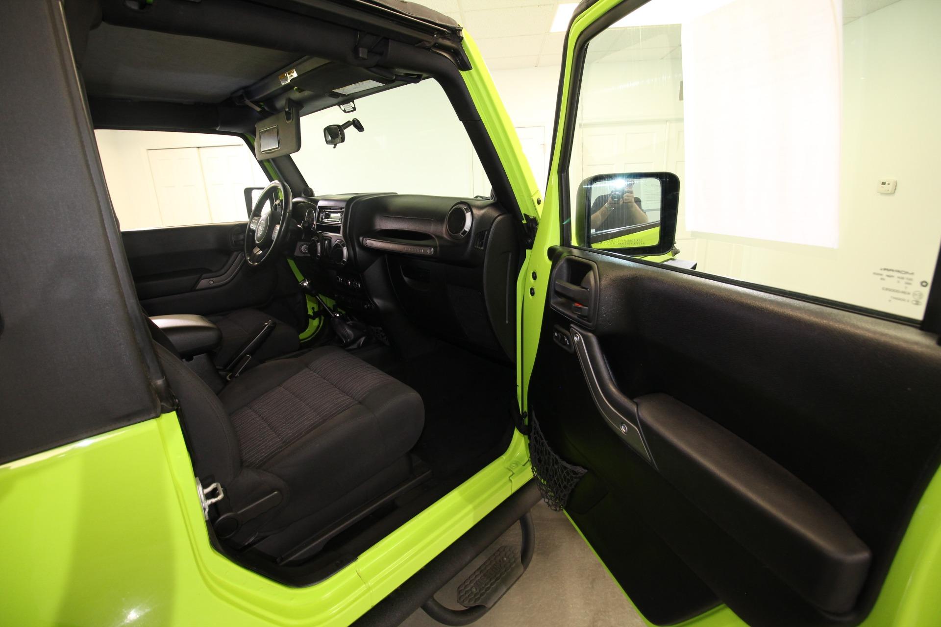 Used 2012 Jeep Wrangler Sport 4WD LOTS OF UPGRADES RARE COLOR | Albany, NY